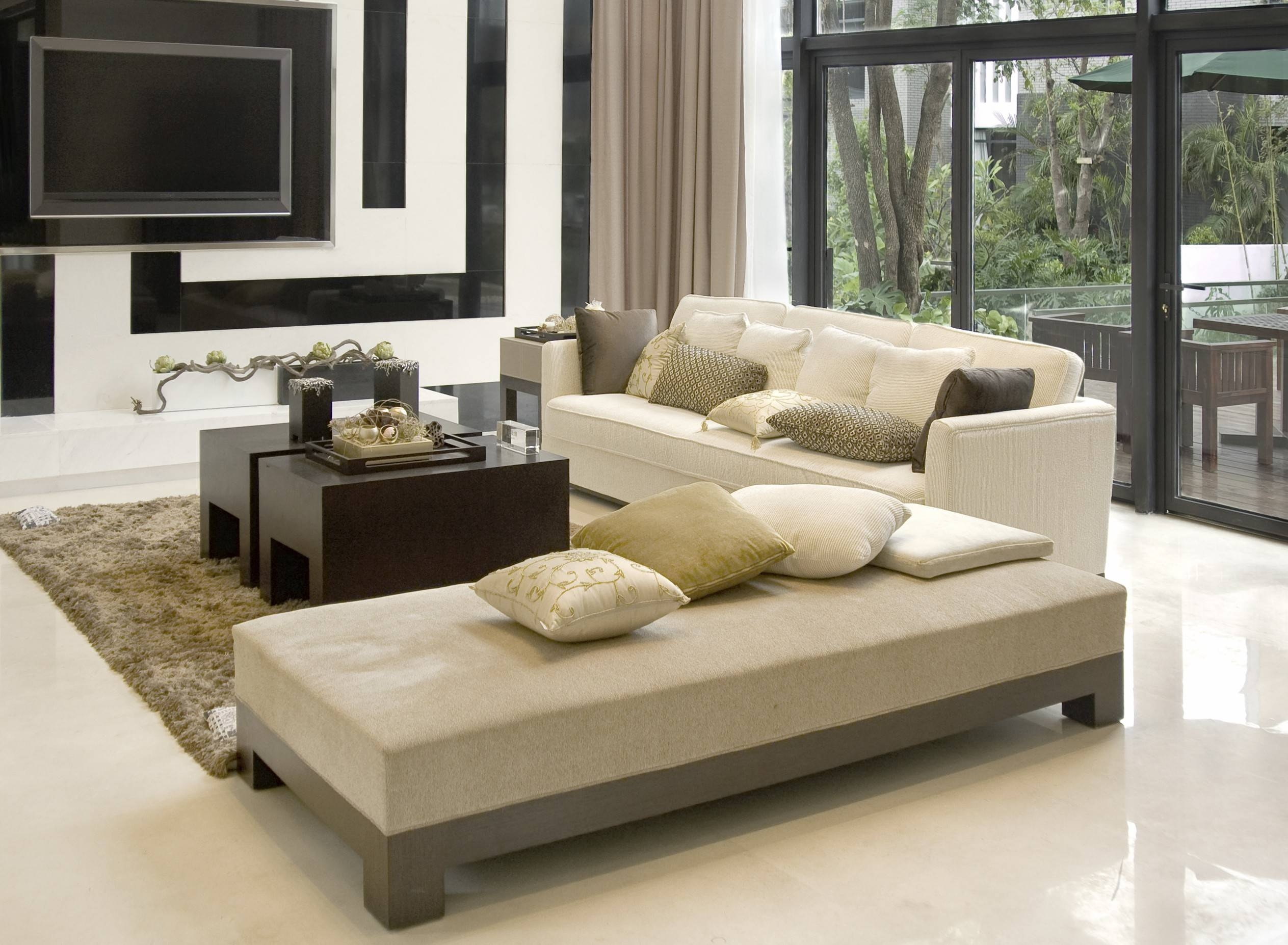 Living Room : Delectable Living Space Nyc Design Ideas With Cream regarding Cream Colored Sofas (Image 16 of 30)