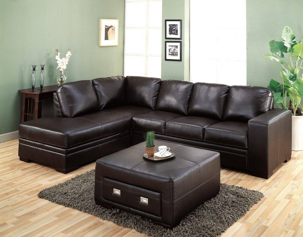 Living Room ~ Durable Dark Leather Genuine Upholstery Sectional pertaining to Durable Sectional Sofa (Image 22 of 30)