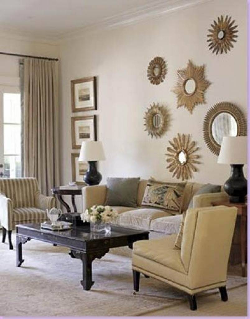 Living Room : Elegant Wall Mirror Living Room Square Gold Wall pertaining to Square Gold Mirrors (Image 12 of 25)