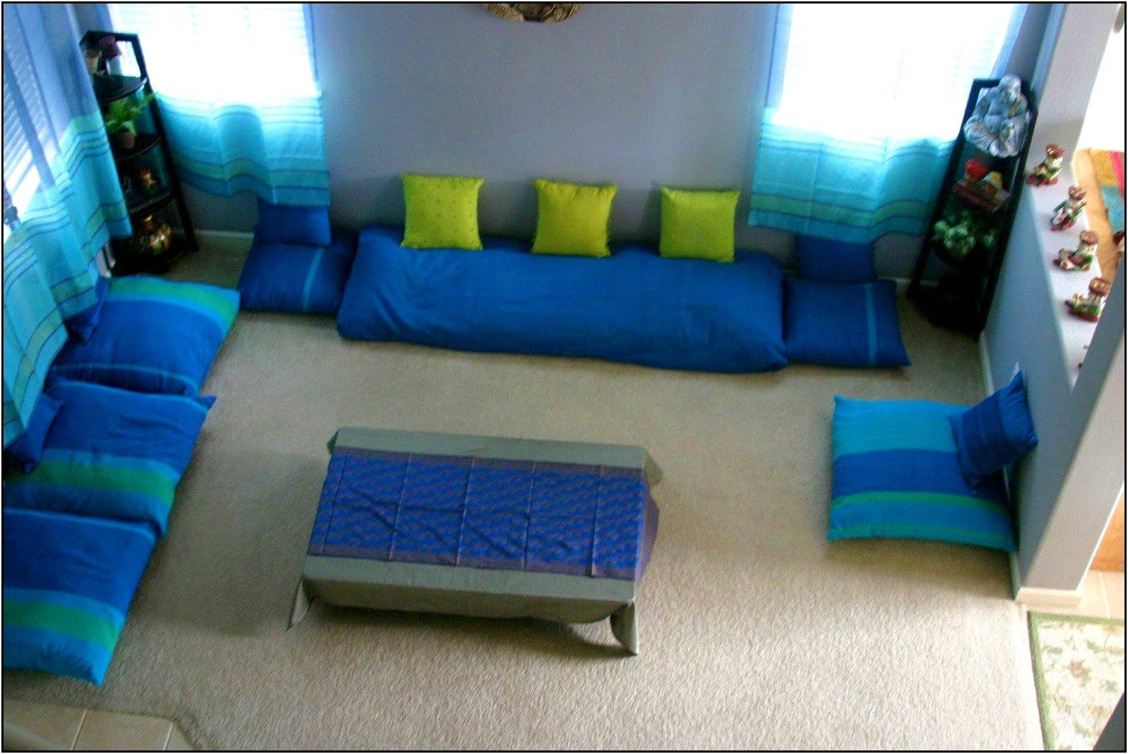 Featured Photo of Floor Seating For Living Room