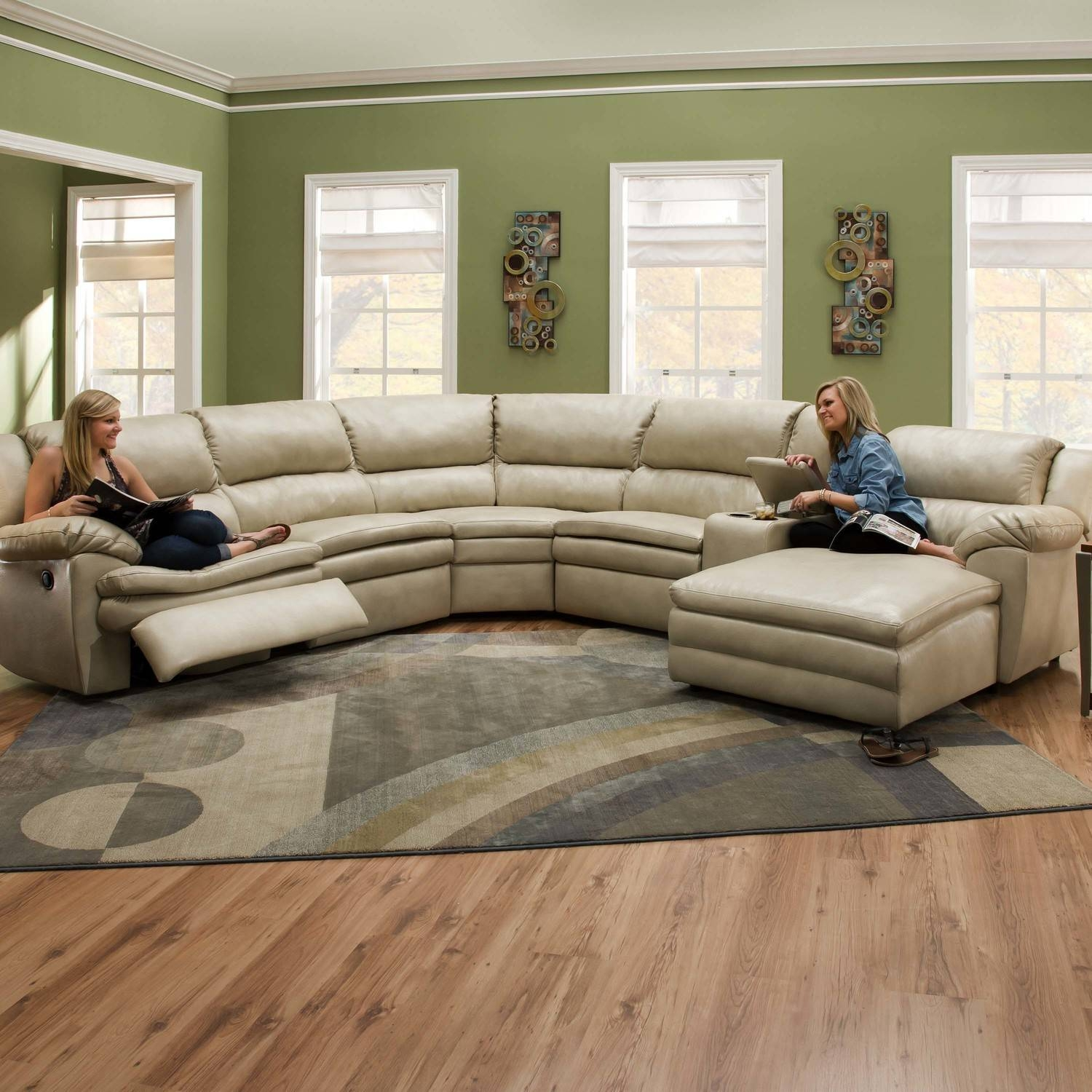 Living Room : Furniture Light Beige Oval Sectional Sofa Mixed in Oval Sofas (Image 16 of 30)