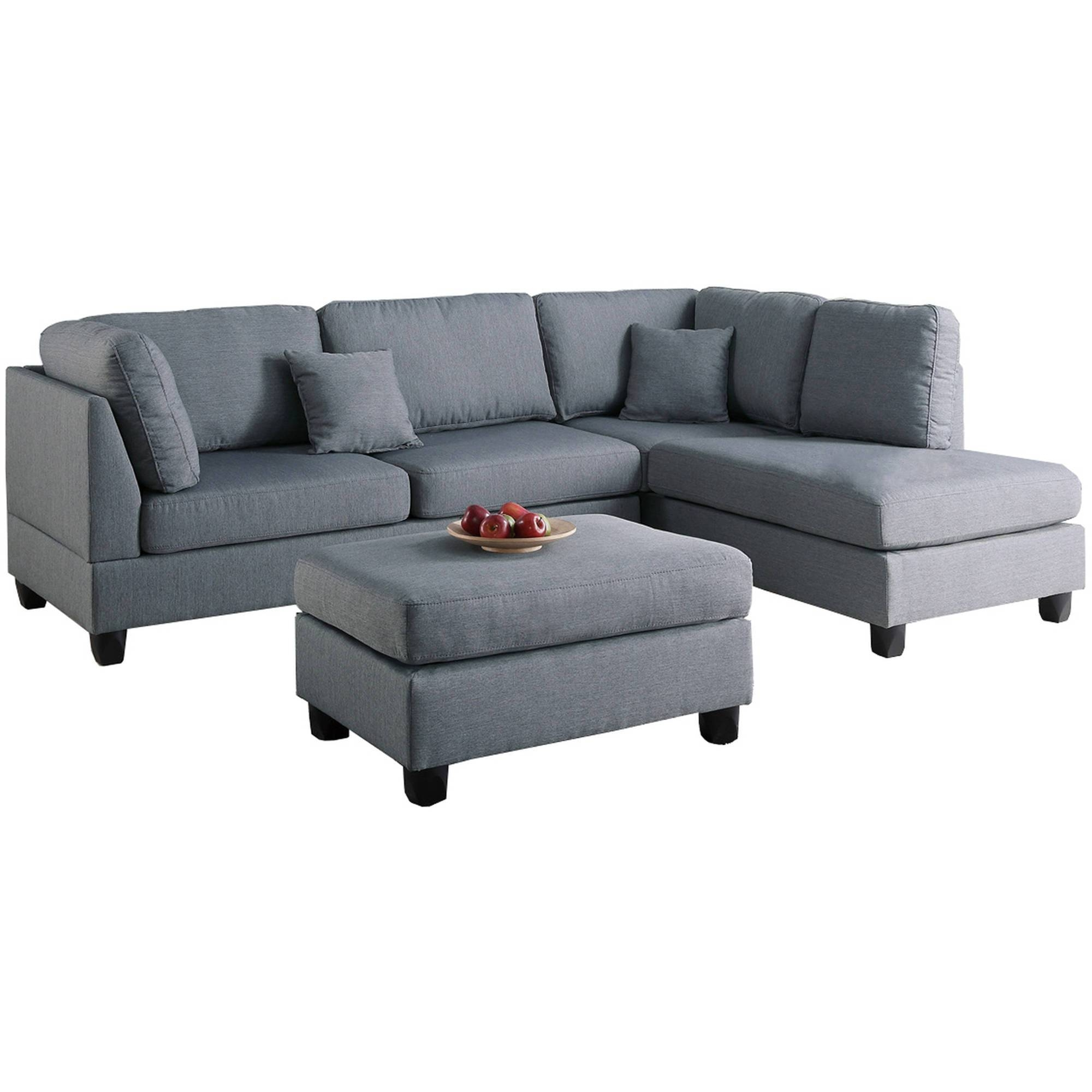 Living Room Furniture with Wallmart Sofa (Image 15 of 25)