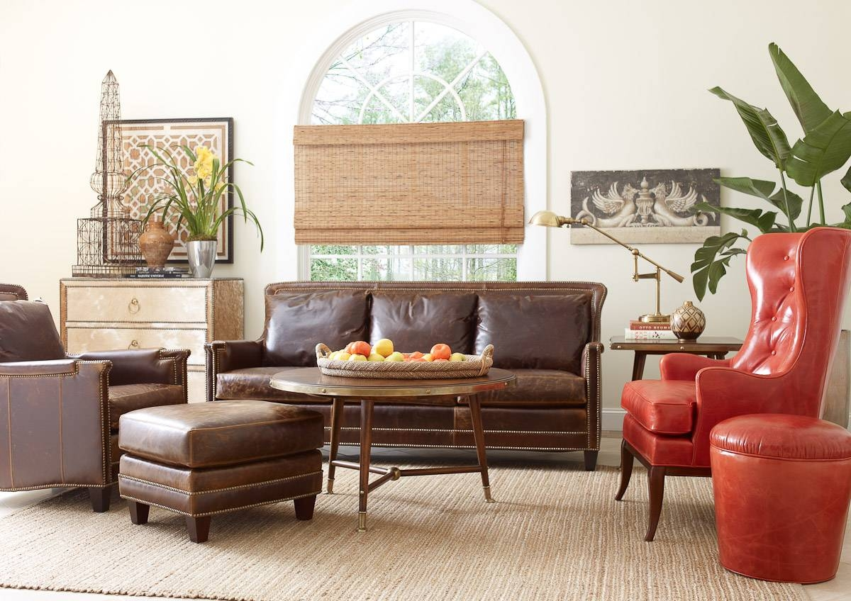 Living Room Leather Furniture in Round Sofa Chair Living Room Furniture (Image 11 of 30)