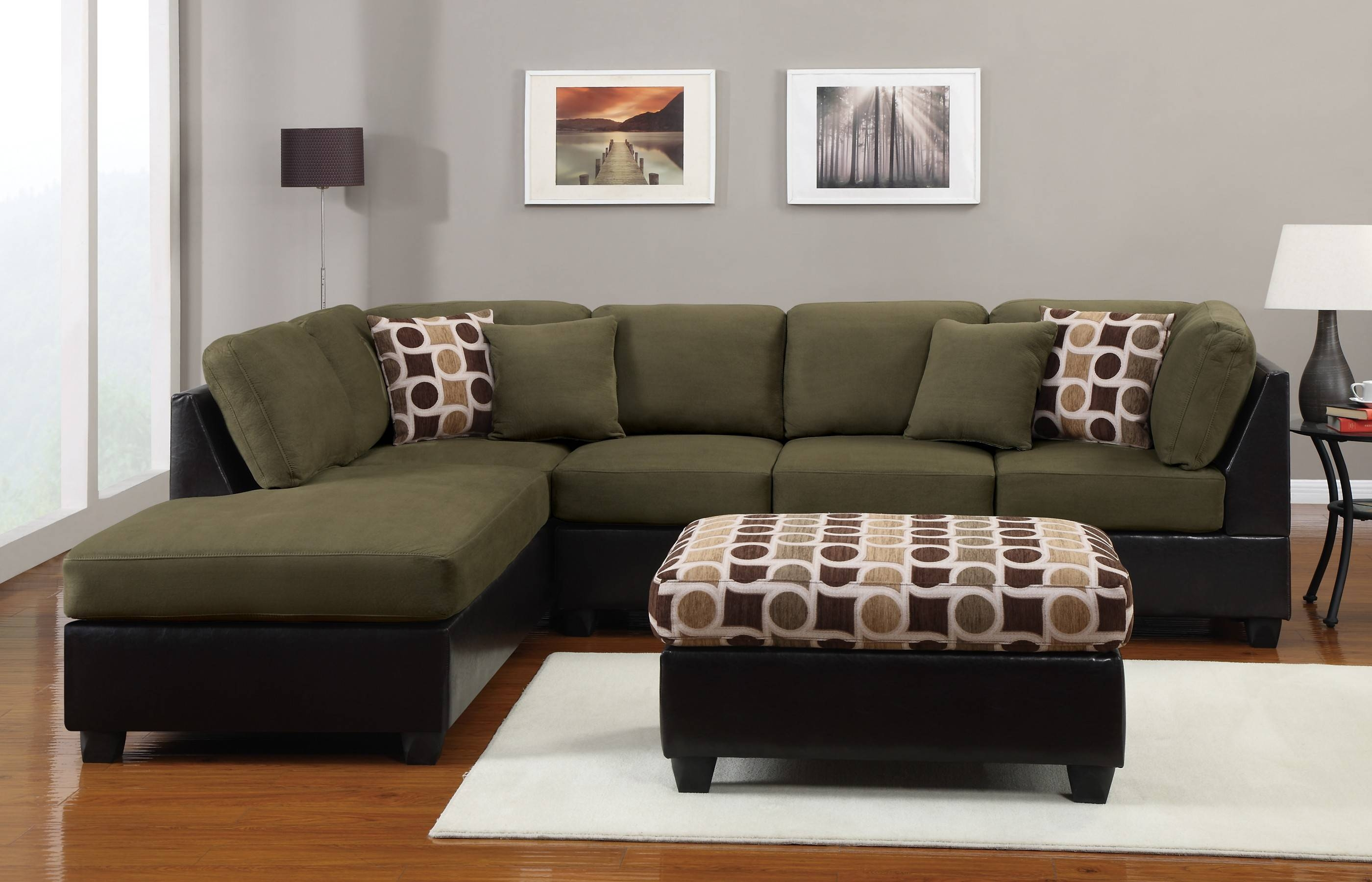33 Best Ideas of 3 Piece Sectional Sofa Slipcovers