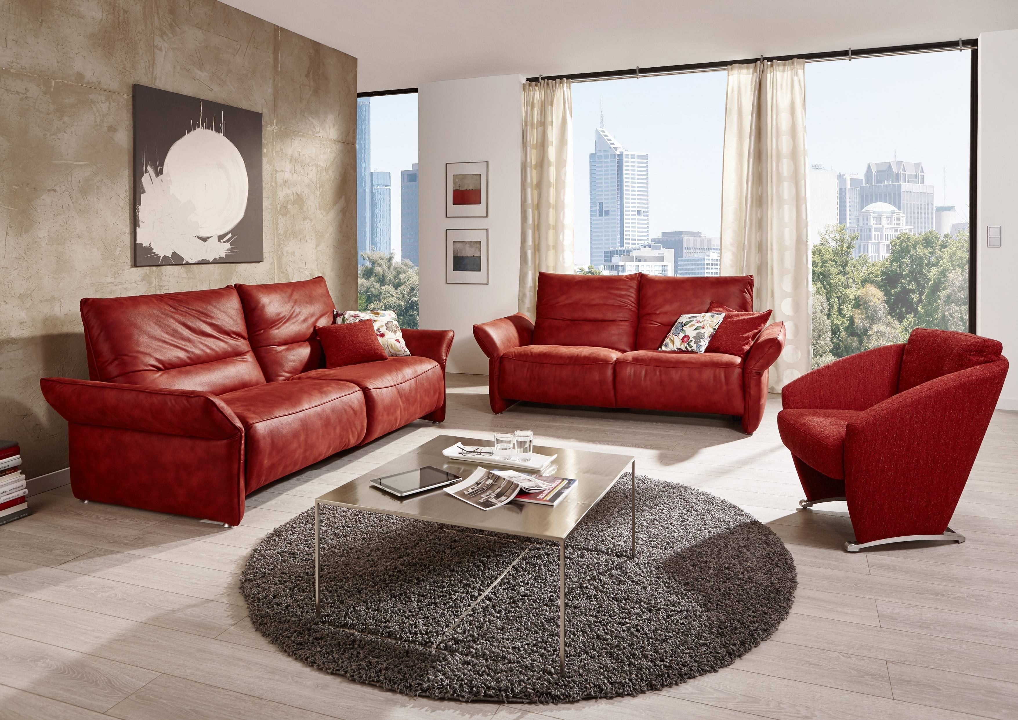 Living Room Red Leather Furniture 33415 Waco Texas Sets | Navpa2016 intended for Red Round Coffee Tables (Image 14 of 30)
