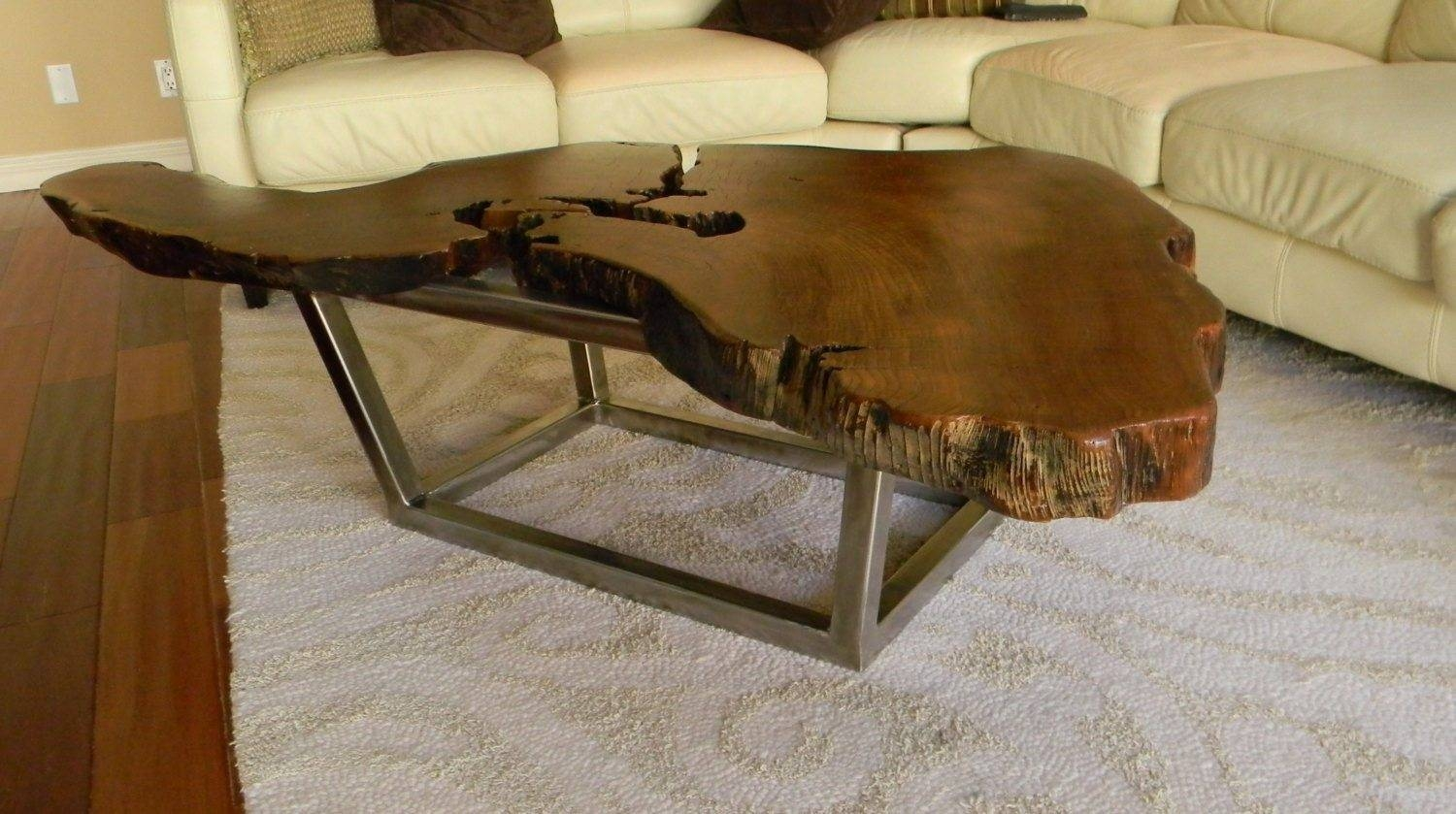 Living Room Rustic Style Coffee Table - Rustic Style Coffee Table pertaining to Rustic Style Coffee Tables (Image 25 of 30)