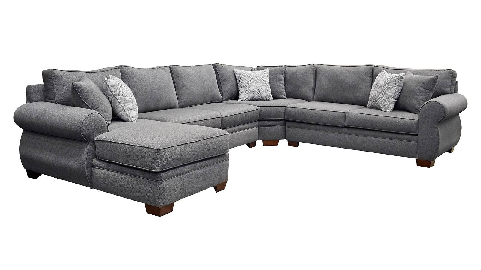 Living Room Sectionals | Gallery Furniture throughout American Made Sectional Sofas (Image 16 of 30)