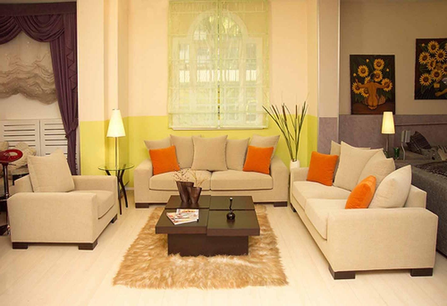 2019 Latest Cream Colored Sofa