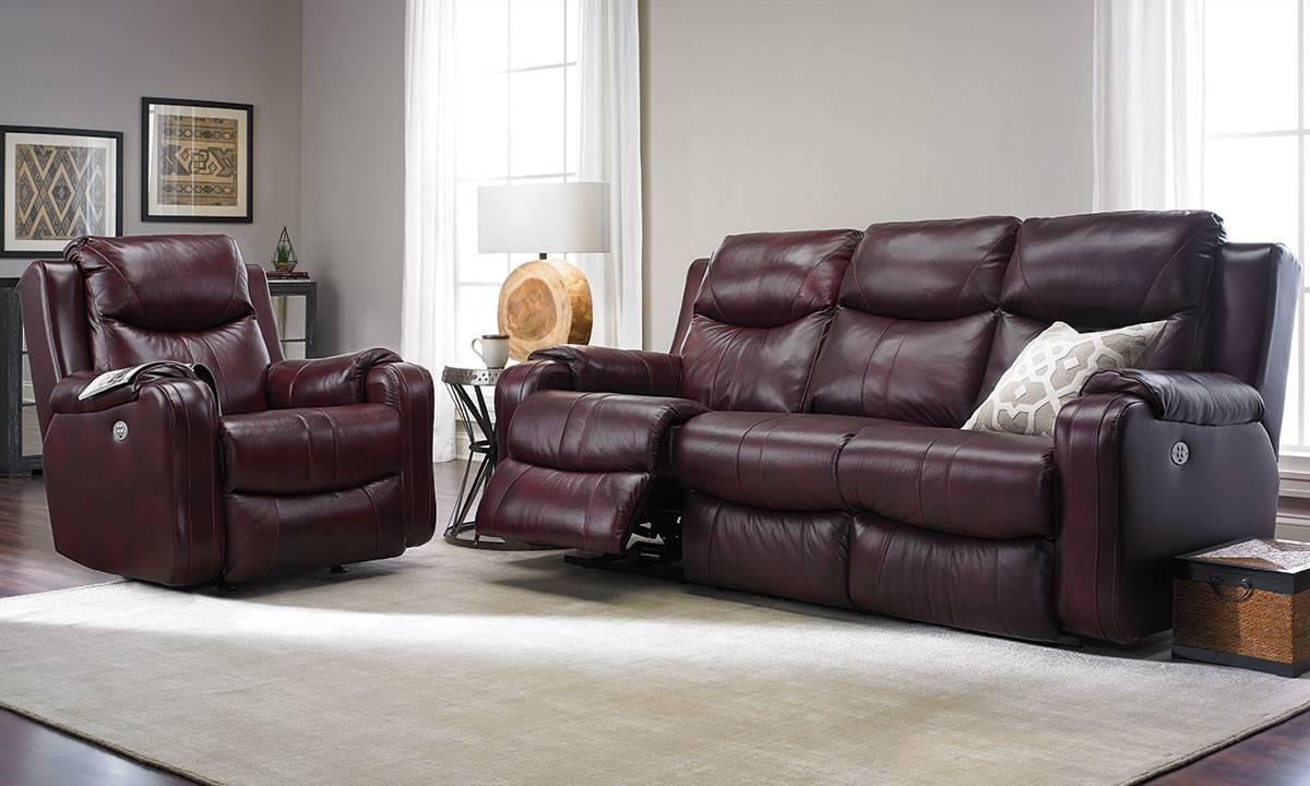 Living Room Sofas | Haynes Furniture, Virginia's Furniture Store With Regard To 2 Seater Recliner Leather Sofas (View 12 of 30)