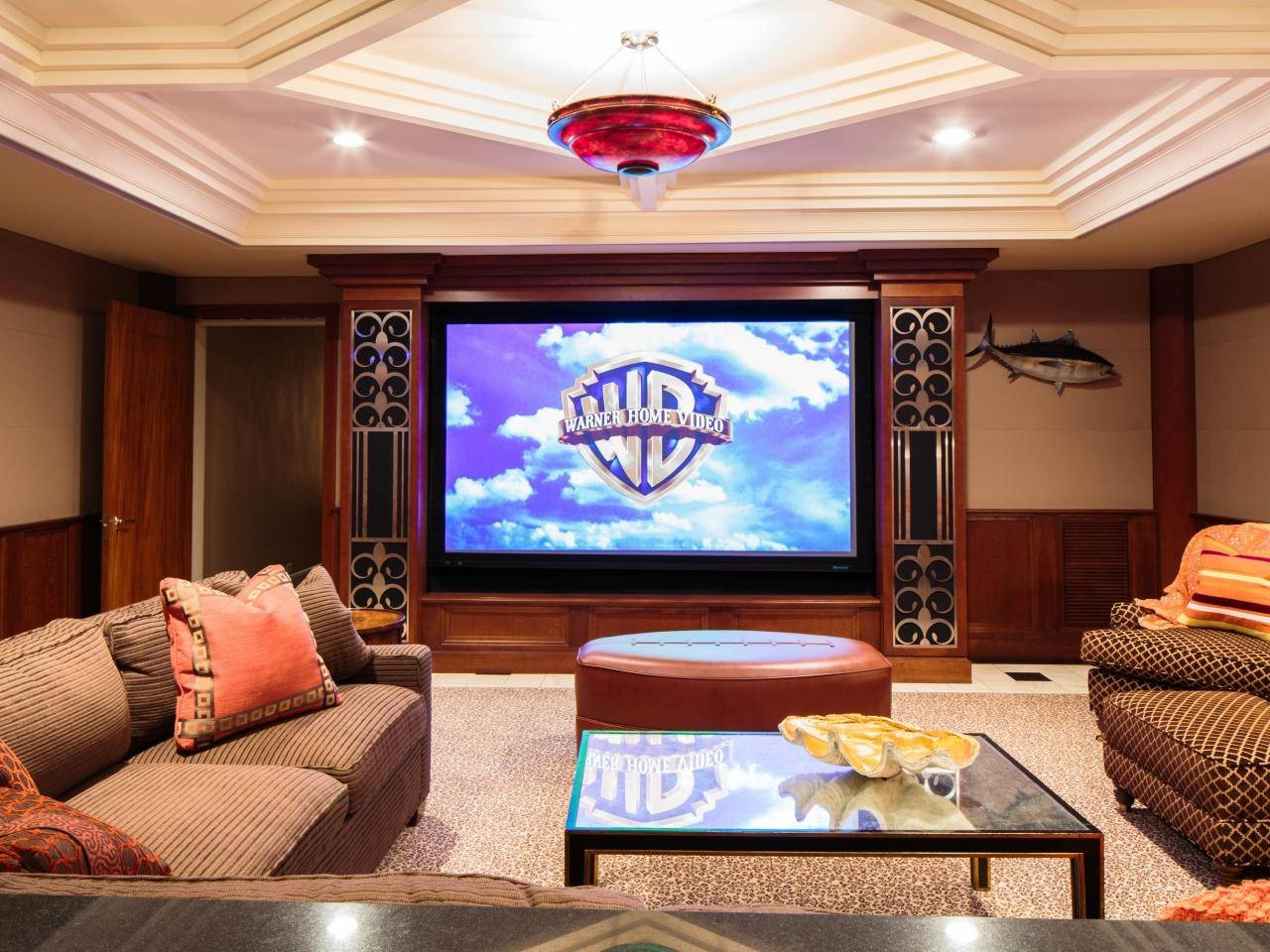 Living Room Theater: Smart Living Room Theater Decor Ideas Living with regard to Theater Room Sofas (Image 21 of 30)