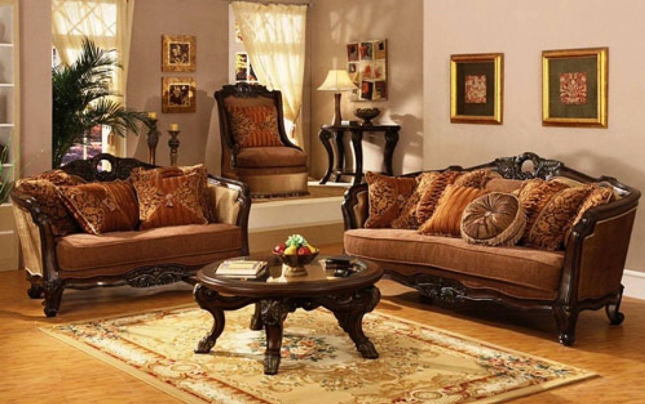 Living Room : Traditional Living Room Ideas With Leather Sofas in Victorian Leather Sofas (Image 16 of 30)