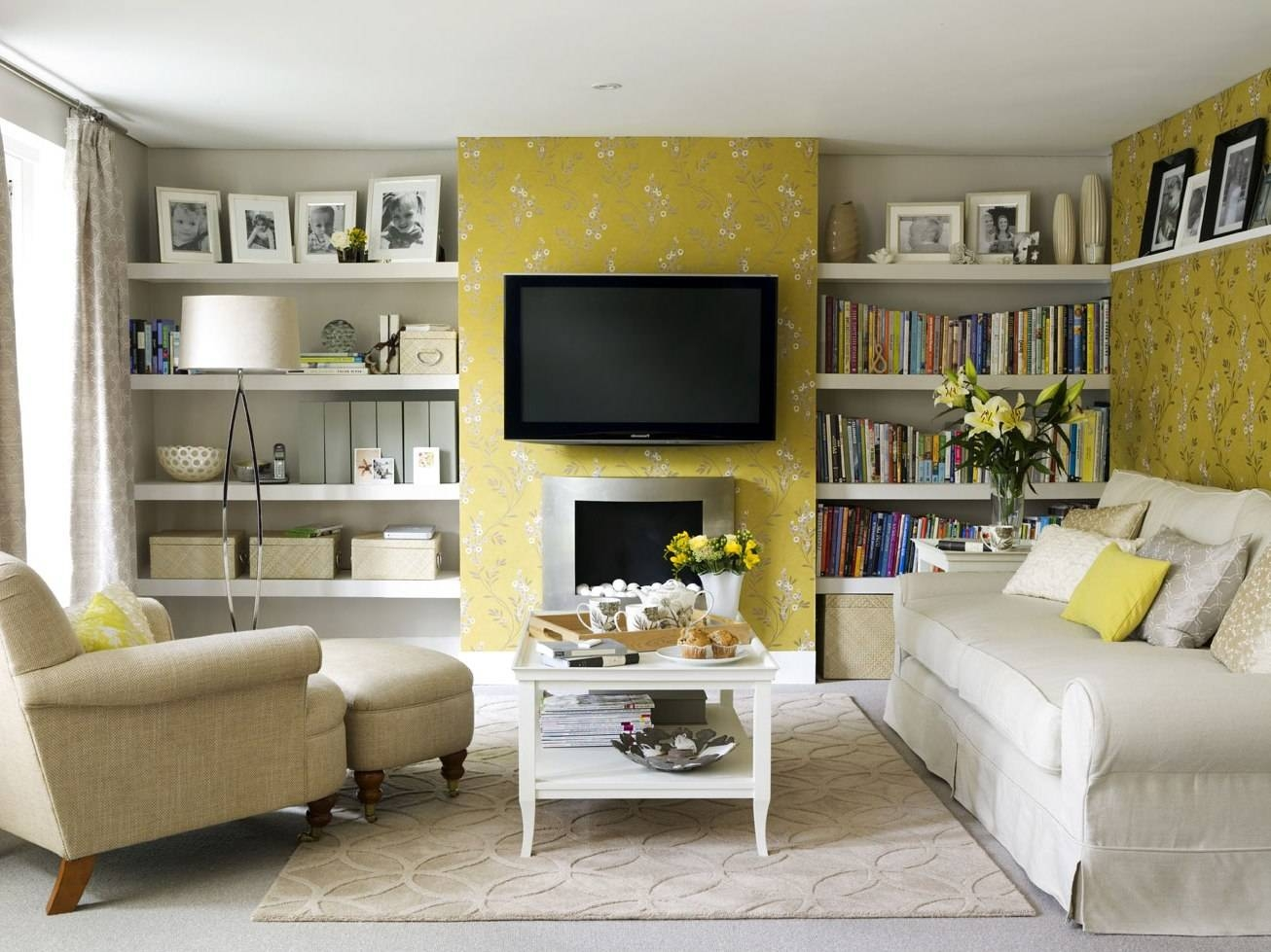 Living Room : Trendy Home Living Room Decorating Ideas Cream Color regarding Cream Colored Sofas (Image 17 of 30)