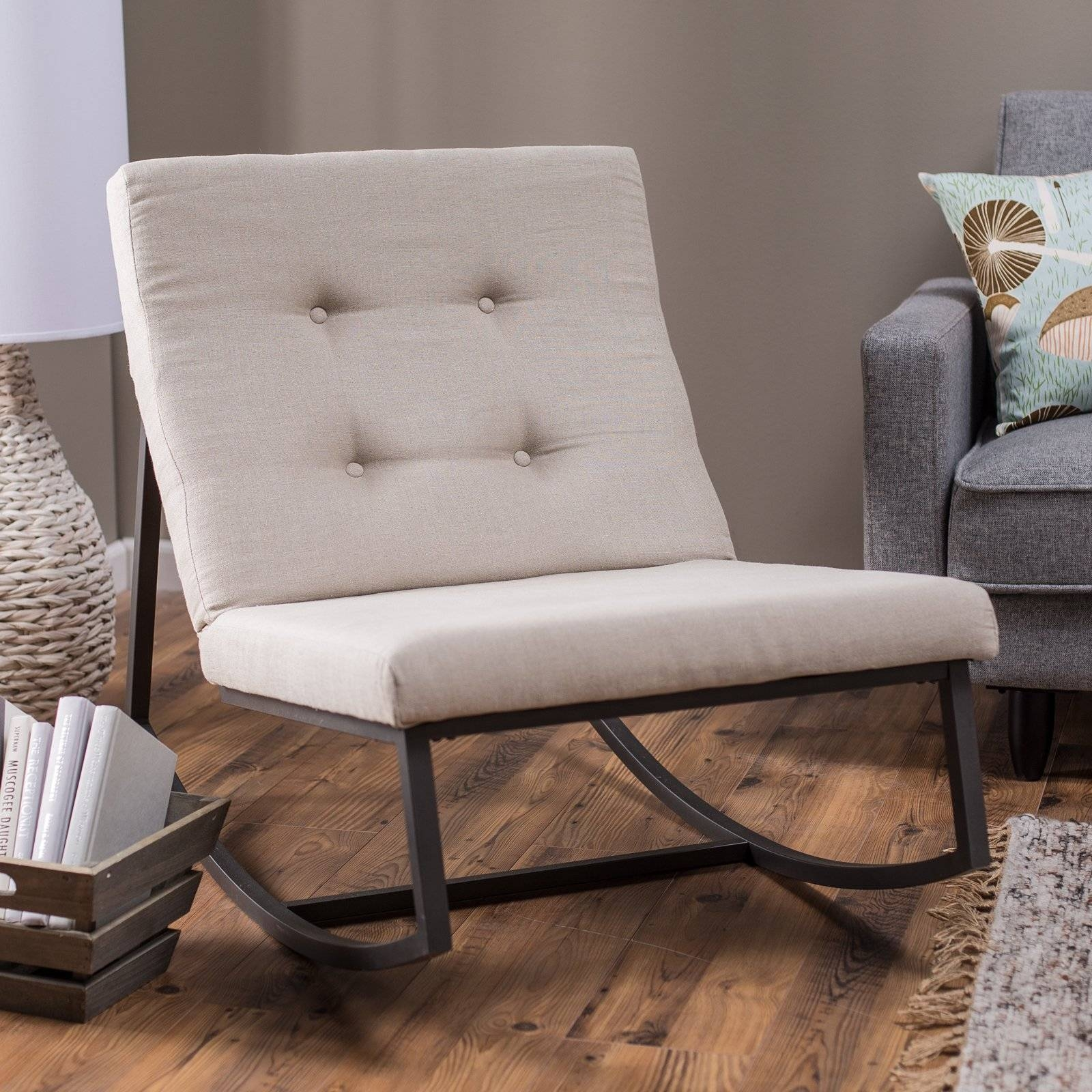 Living Room : Wonderful Rocking Chair Decorating Ideas With Black with Sofa Rocking Chairs (Image 12 of 30)