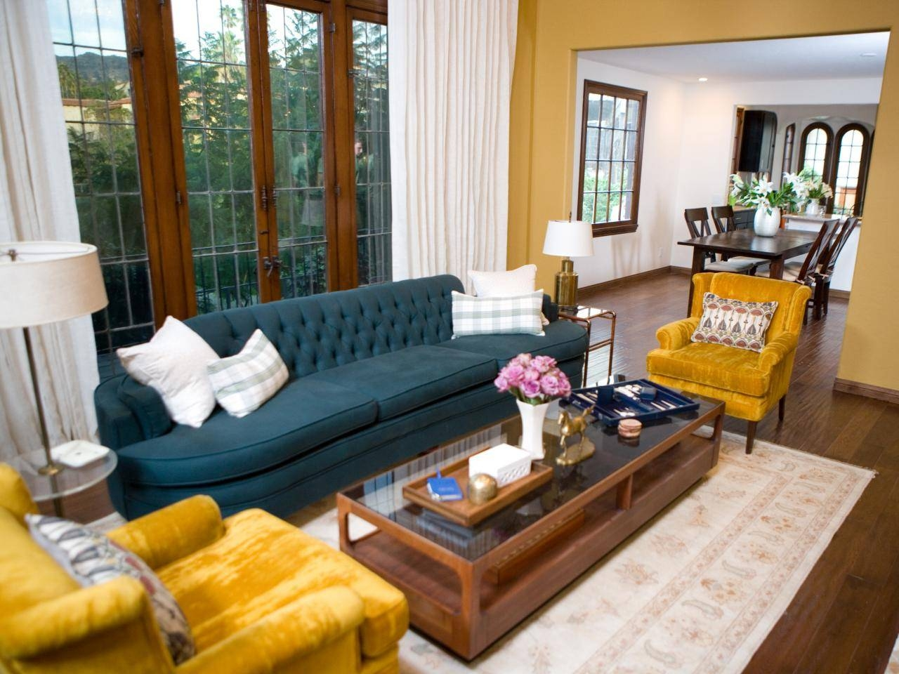 Living Room Yellow Chairs - Carameloffers throughout Yellow Sofa Chairs (Image 23 of 30)