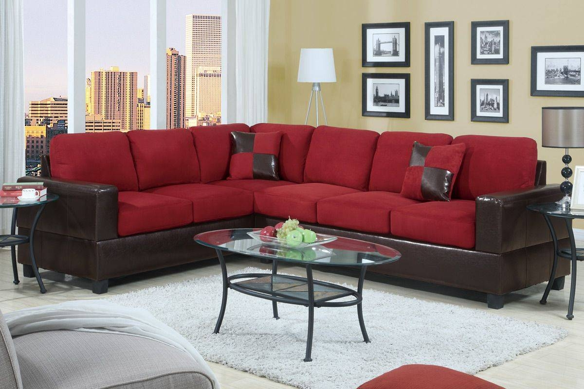 Living Rooms Design With Red Couch And Red Sofa Pop Living Room regarding Cheap Red Sofas (Image 12 of 30)