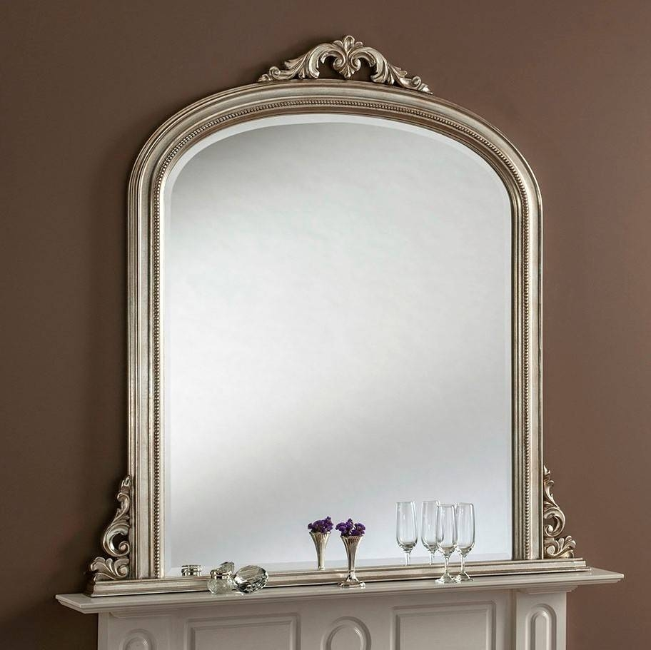 Lois Gande Overmantle Mirror From £499 - Luxury Overmantle Mirrors pertaining to Overmantle Mirrors (Image 16 of 25)