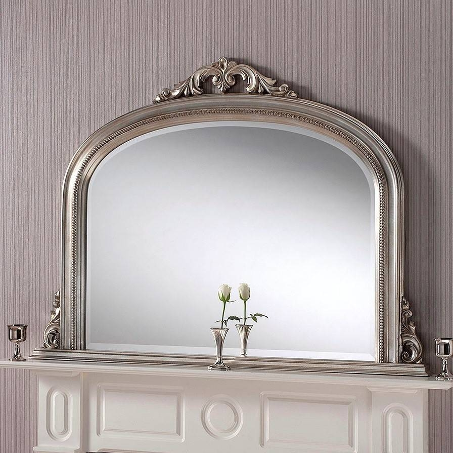 Lois Overmantle Mirror From £299 - Luxury Overmantle Mirrors pertaining to Overmantel Mirrors (Image 15 of 25)