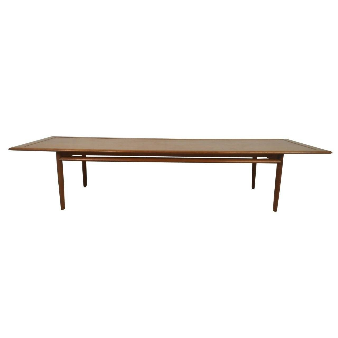 Long Coffee Table From Drexel Parallel Series For Sale At 1Stdibs inside Long Coffee Tables (Image 10 of 15)