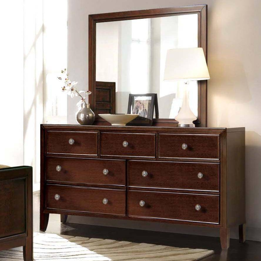 Long Dresser With Mirror – Harpsounds.co regarding Long Brown Mirrors (Image 21 of 25)