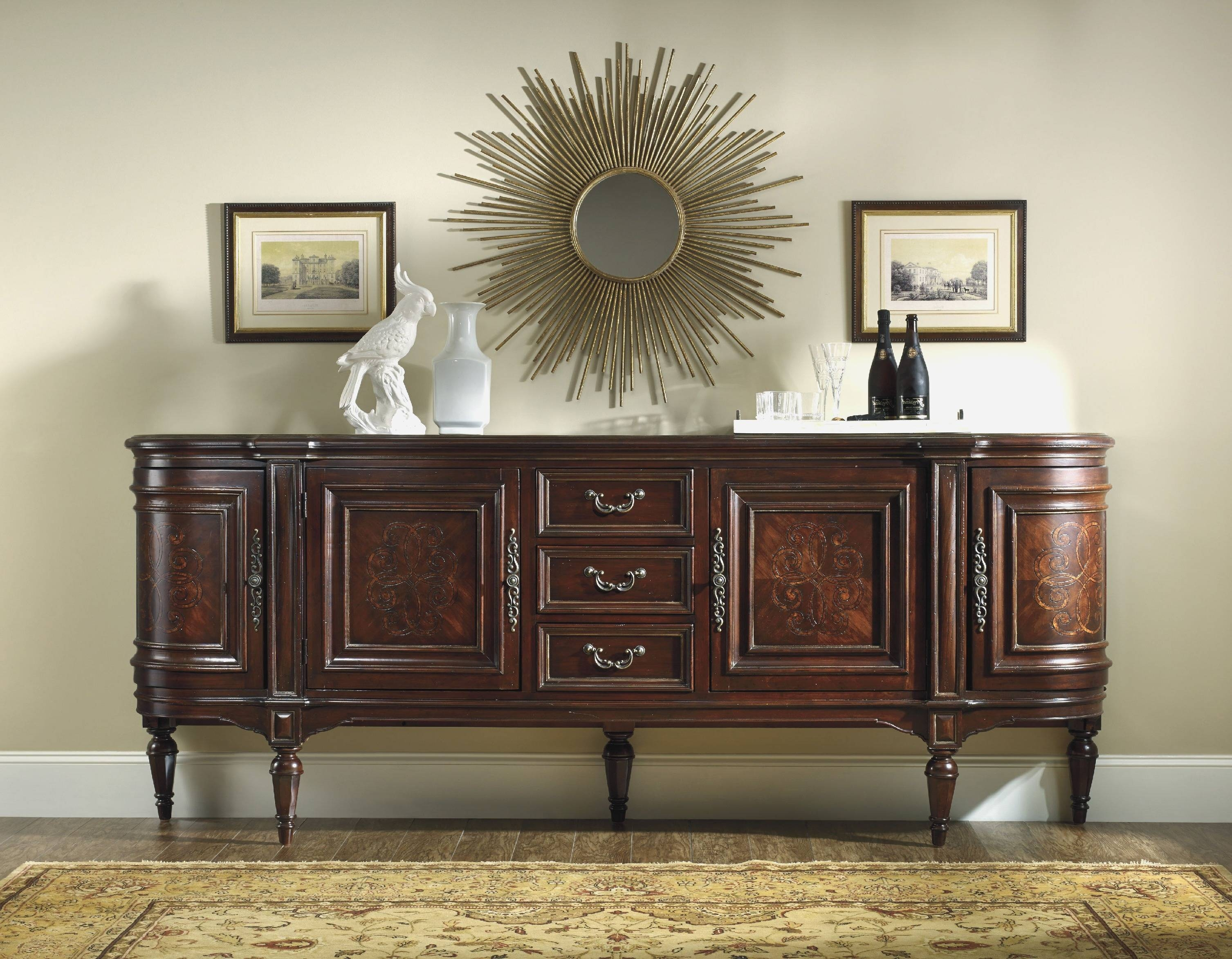 Long Sideboards And Buffets | Rembun.co pertaining to Tall Sideboards (Image 15 of 30)