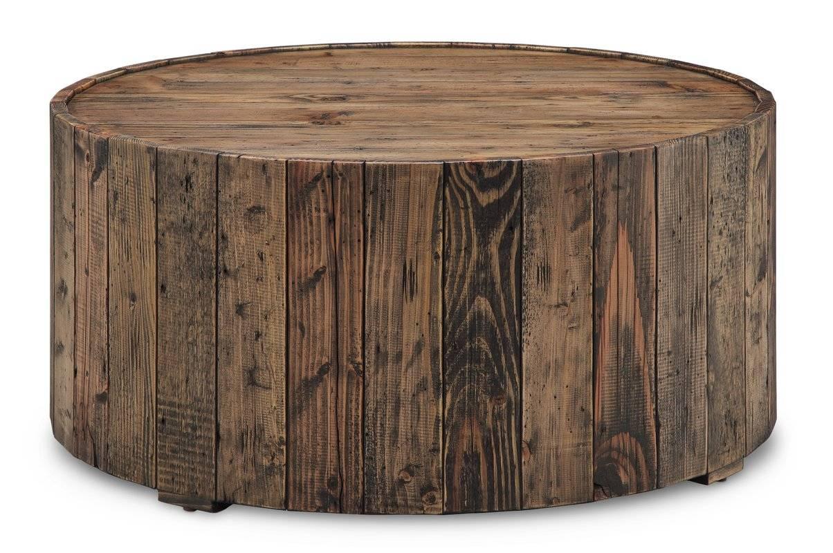 Loon Peak Antonio Round Coffee Table & Reviews | Wayfair Regarding Circular Coffee Tables (View 25 of 30)