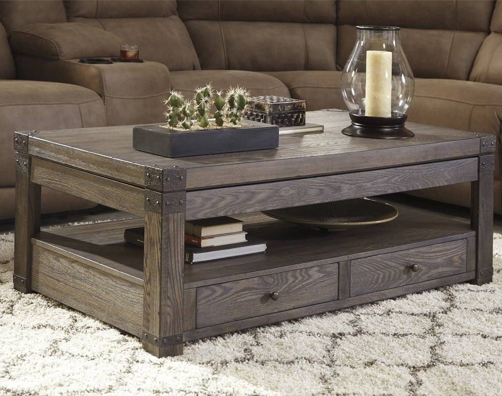 Loon Peak Bryan Coffee Table With Lift Top & Reviews | Wayfair for Coffee Tables With Lifting Top (Image 19 of 30)