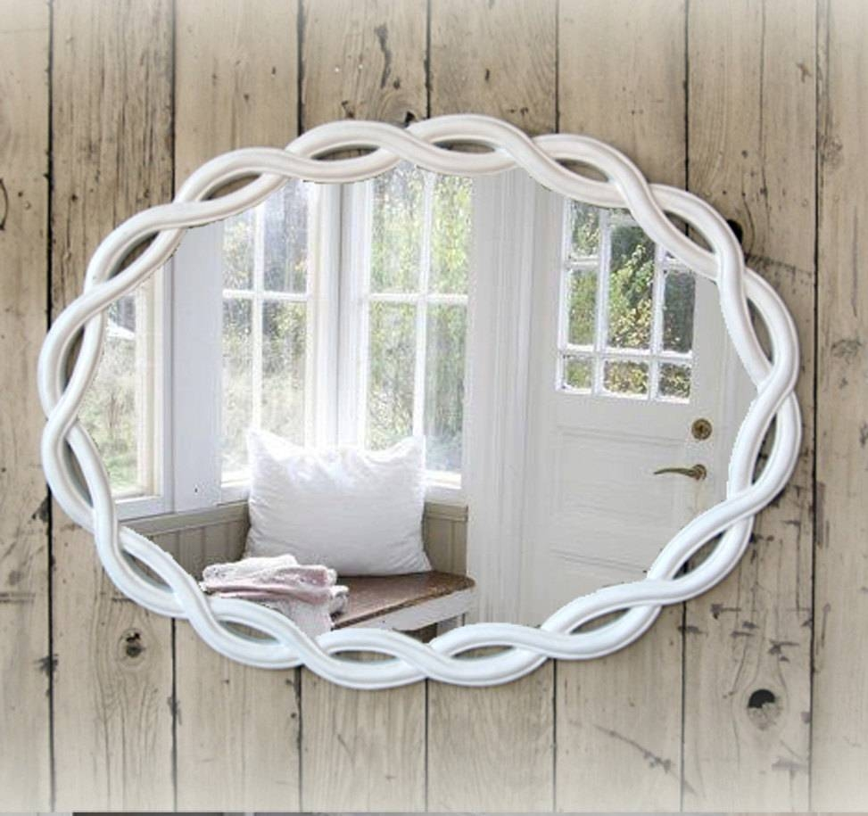 Lovely Shabby Chic Bathroom Mirrors 57 With Shabby Chic Bathroom In Mirrors  Shabby Chic (Image