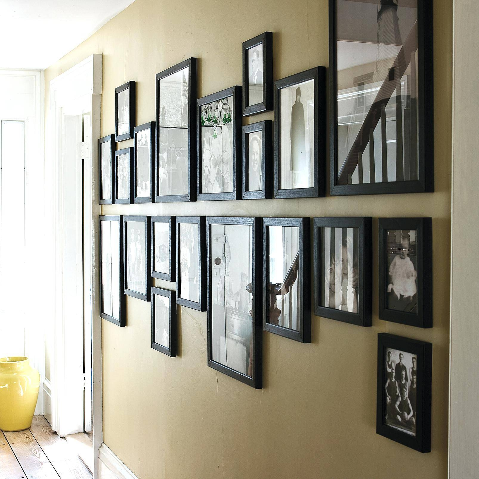 Lovely White Frame Mirrorlarge Glass Framed Wall Mirrors Large pertaining to Oak Framed Wall Mirrors (Image 6 of 25)