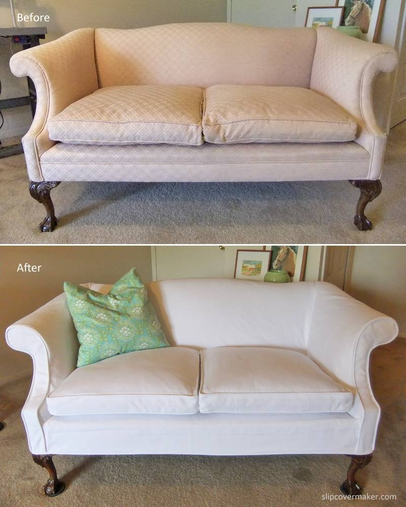 Loveseat Slipcovers | The Slipcover Maker regarding Sofa Loveseat Slipcovers (Image 18 of 30)