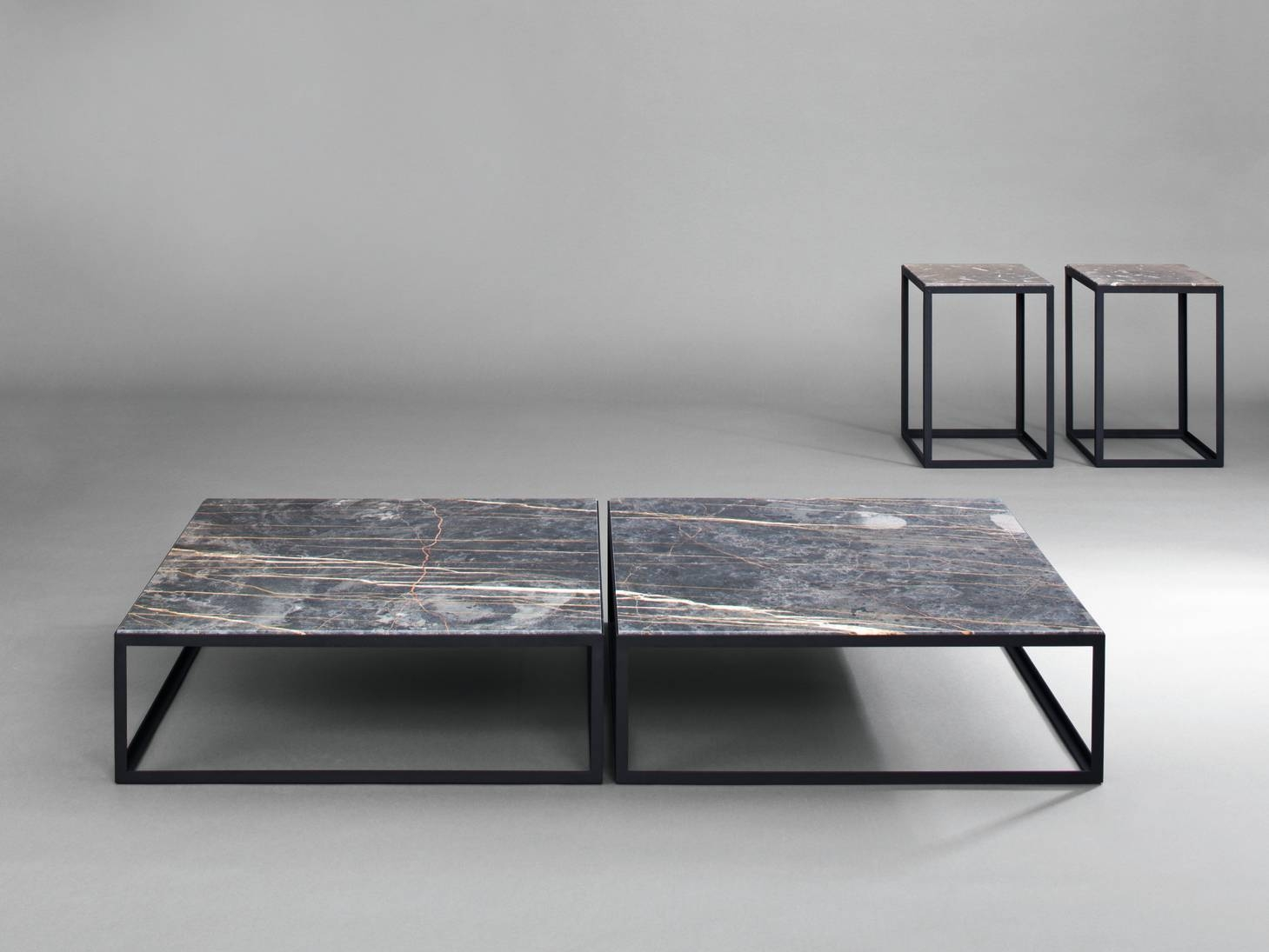 Low Black Square Coffee Table | Coffee Tables Decoration pertaining to Square Low Coffee Tables (Image 10 of 20)