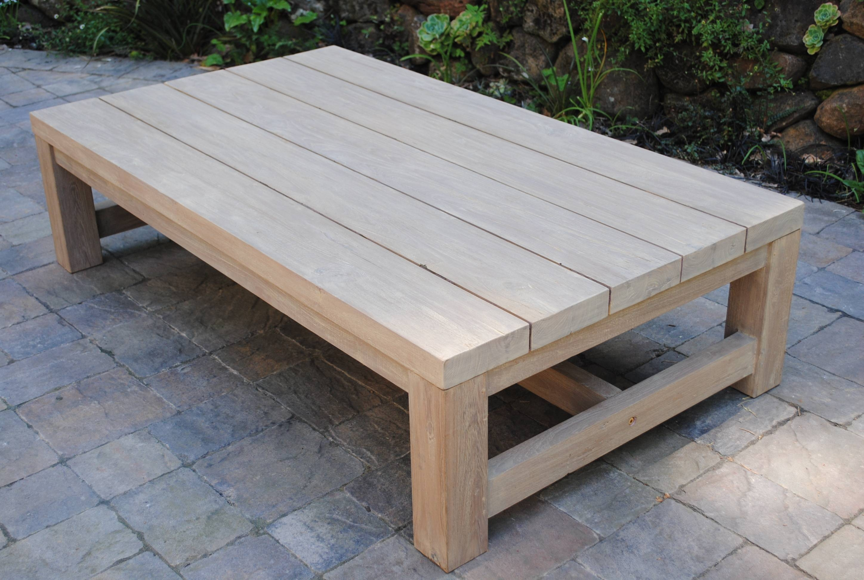 Low Outdoor Coffee Table 2lk2 – Cnxconsortium | Outdoor Furniture Throughout Large Low Wooden Coffee Tables (View 17 of 30)