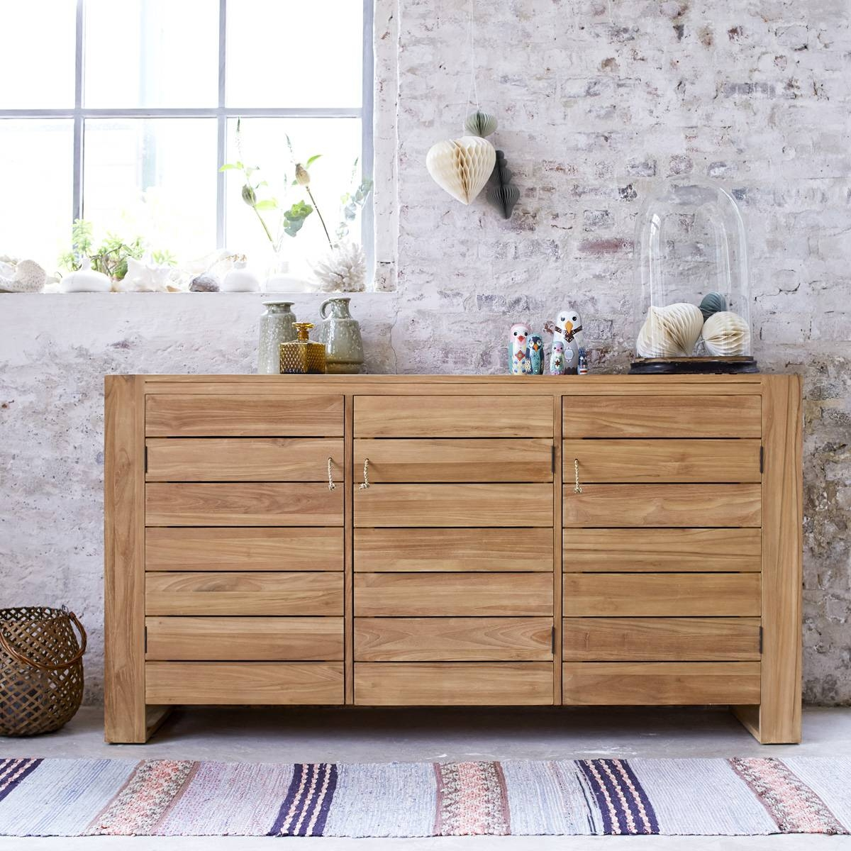 Low-Priced Solid Wood Sideboards - Exotic Wood Sideboards - Tikamoon pertaining to Real Wood Sideboards (Image 3 of 30)