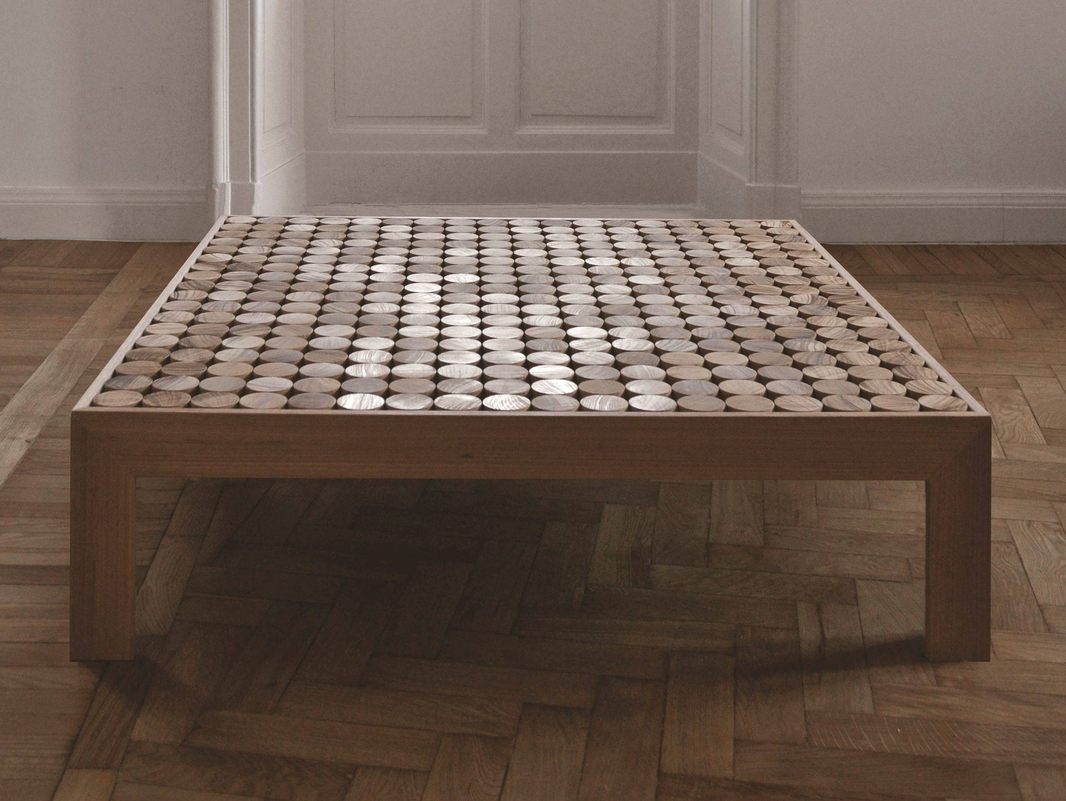 Low Square Coffee Table Wooden | Coffee Tables Decoration Inside Large Square Low Coffee Tables (View 6 of 30)