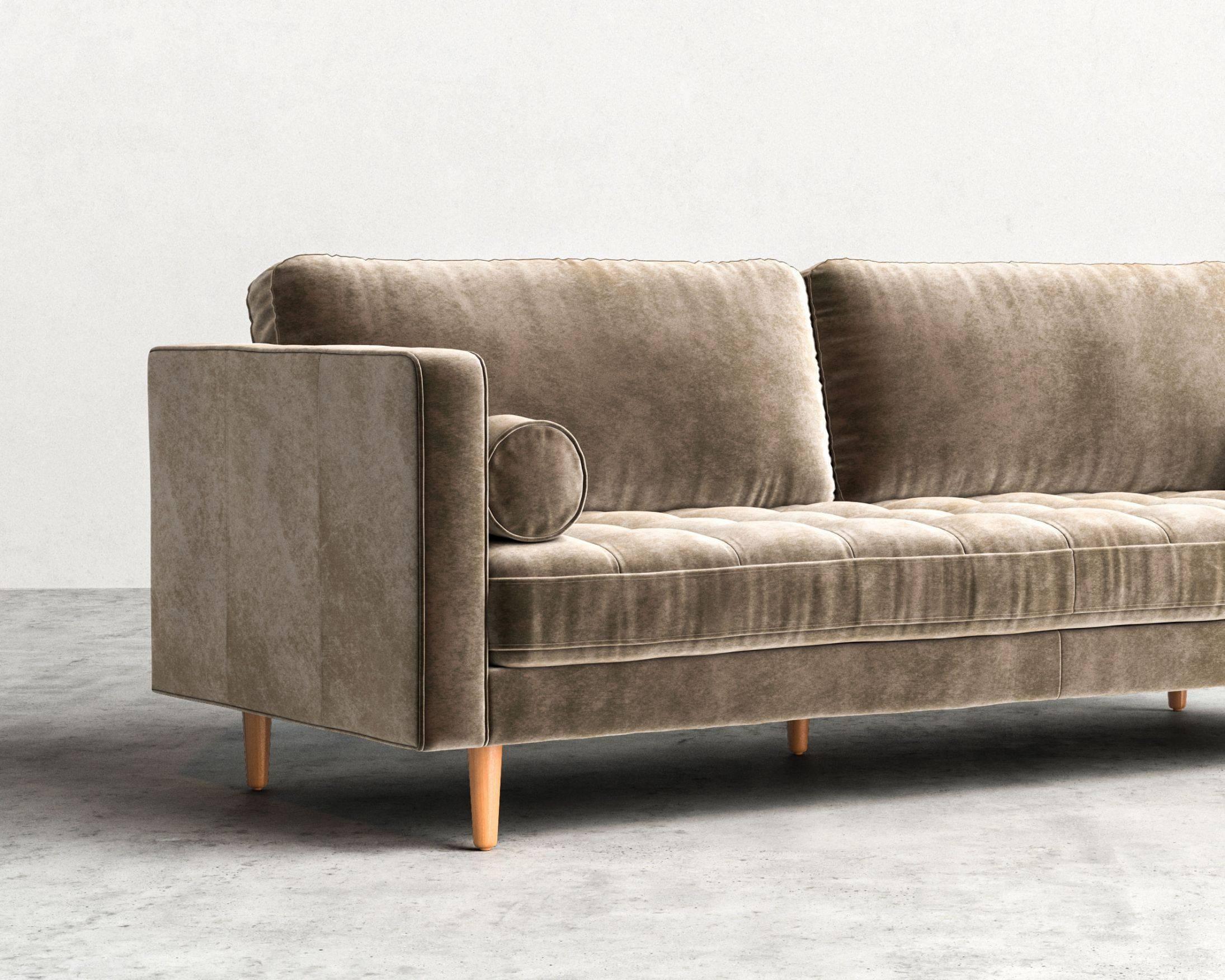 Luca Sofa | Mid-Century Modern Sofa | Rove Concepts in Mid Range Sofas (Image 20 of 30)