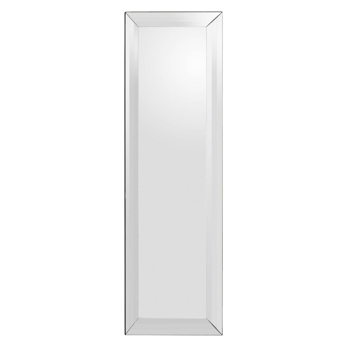 Luella 200X 60Cm Silver Rectangular Full Length Wall Mirror | Buy pertaining to Bevelled Wall Mirrors (Image 20 of 25)