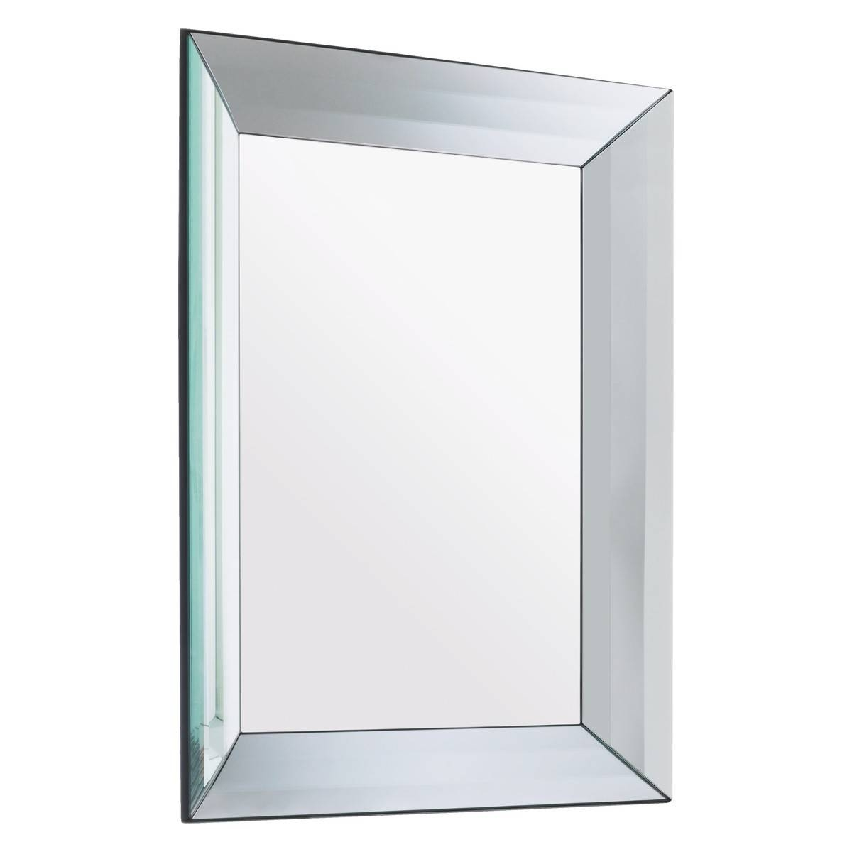 Luella 60 X 80Cm Rectangular Bevelled Wall Mirror | Buy Now At regarding Silver Bevelled Mirrors (Image 19 of 25)