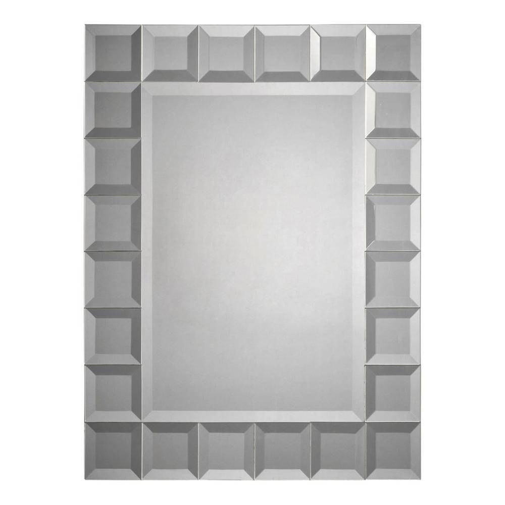 Luna 24 In. X 32 In. Beveled Glass Mirror-Cli-Fug9528810 - The with regard to Bevelled Mirrors (Image 22 of 25)