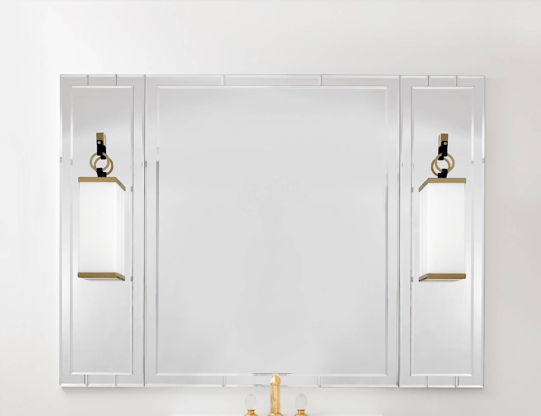 Lutetia 0Ltsp170Ls Luxury Art Deco Designer Bathroom Mirror regarding Deco Bathroom Mirrors (Image 24 of 25)