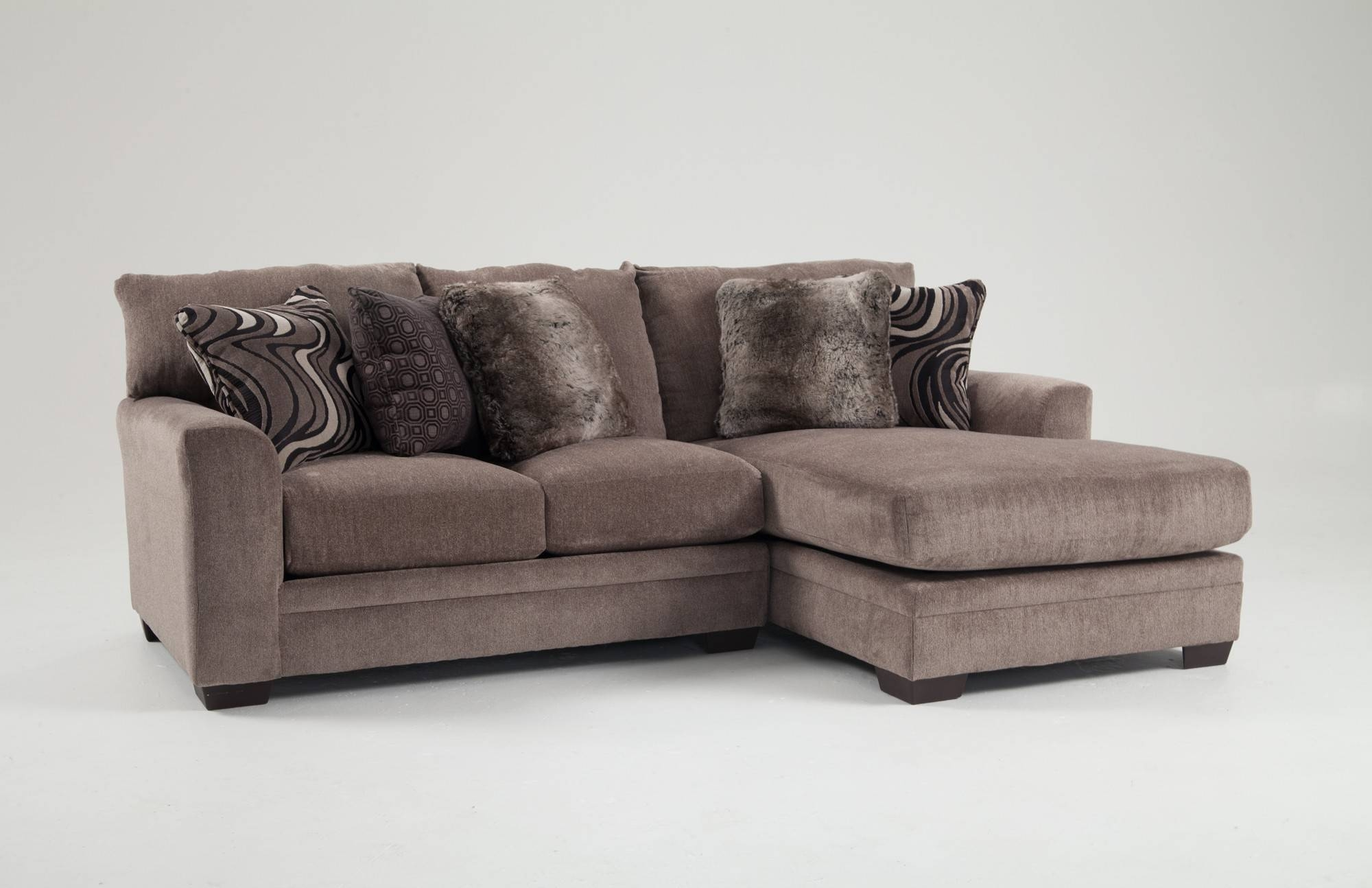 Luxe 2 Piece Left Arm Facing Sectional With Chaise | Bob's Pertaining To Sectional Sofa With 2 Chaises (View 24 of 30)