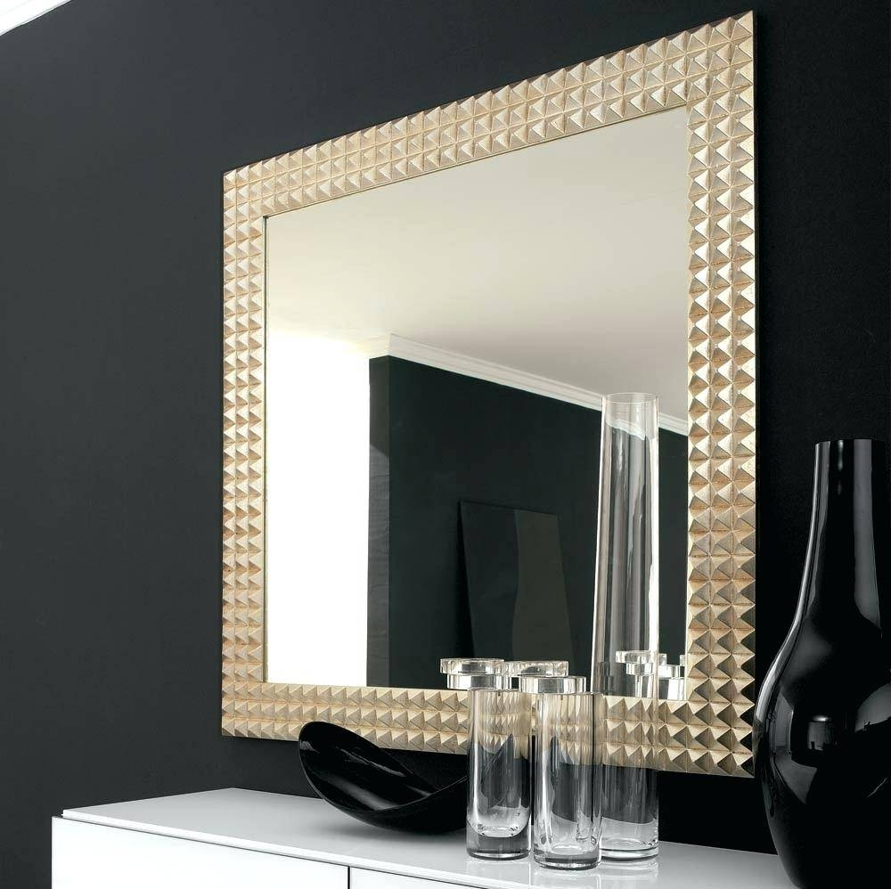 Luxurious Large Wall Mirrors Showerbig Square Mirror Dubois regarding Square Wall Mirrors (Image 17 of 25)