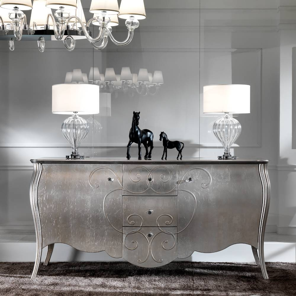 Luxury Buffets & Sideboards - Exclusive High End Designer regarding Black And Silver Sideboards (Image 13 of 30)