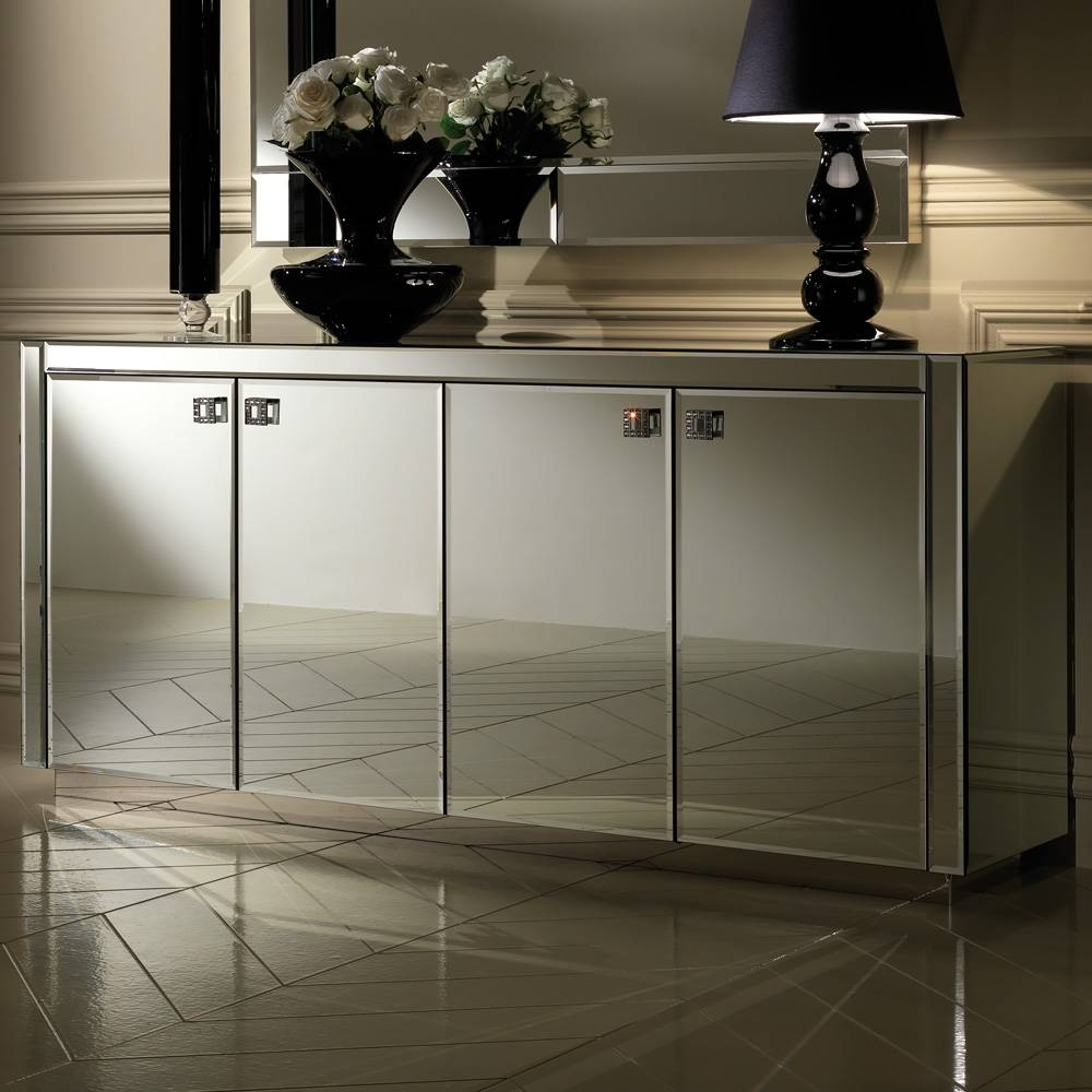 Luxury Italian Designer Venetian Buffet And Mirror | Juliettes regarding Venetian Sideboard Mirrors (Image 15 of 25)