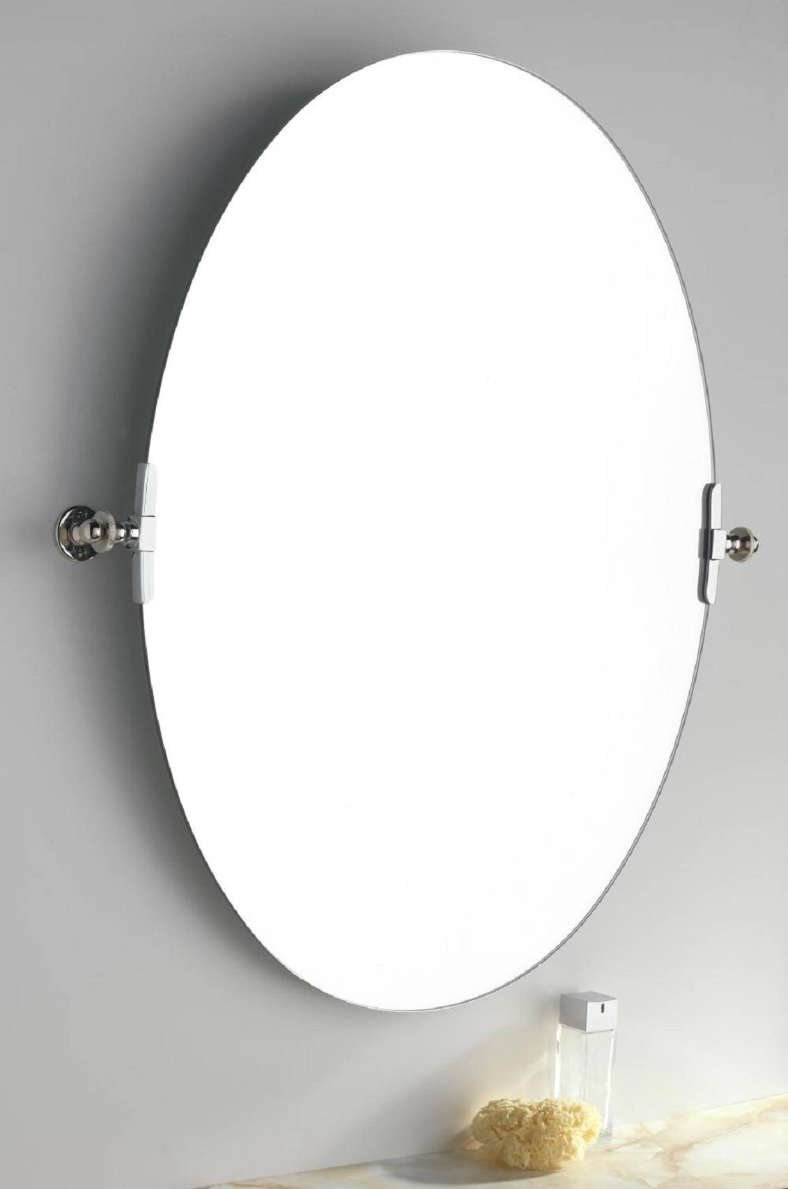 Luxury Oval Bathroom Mirrors X12D #1003 for White Oval Bathroom Mirrors (Image 18 of 25)