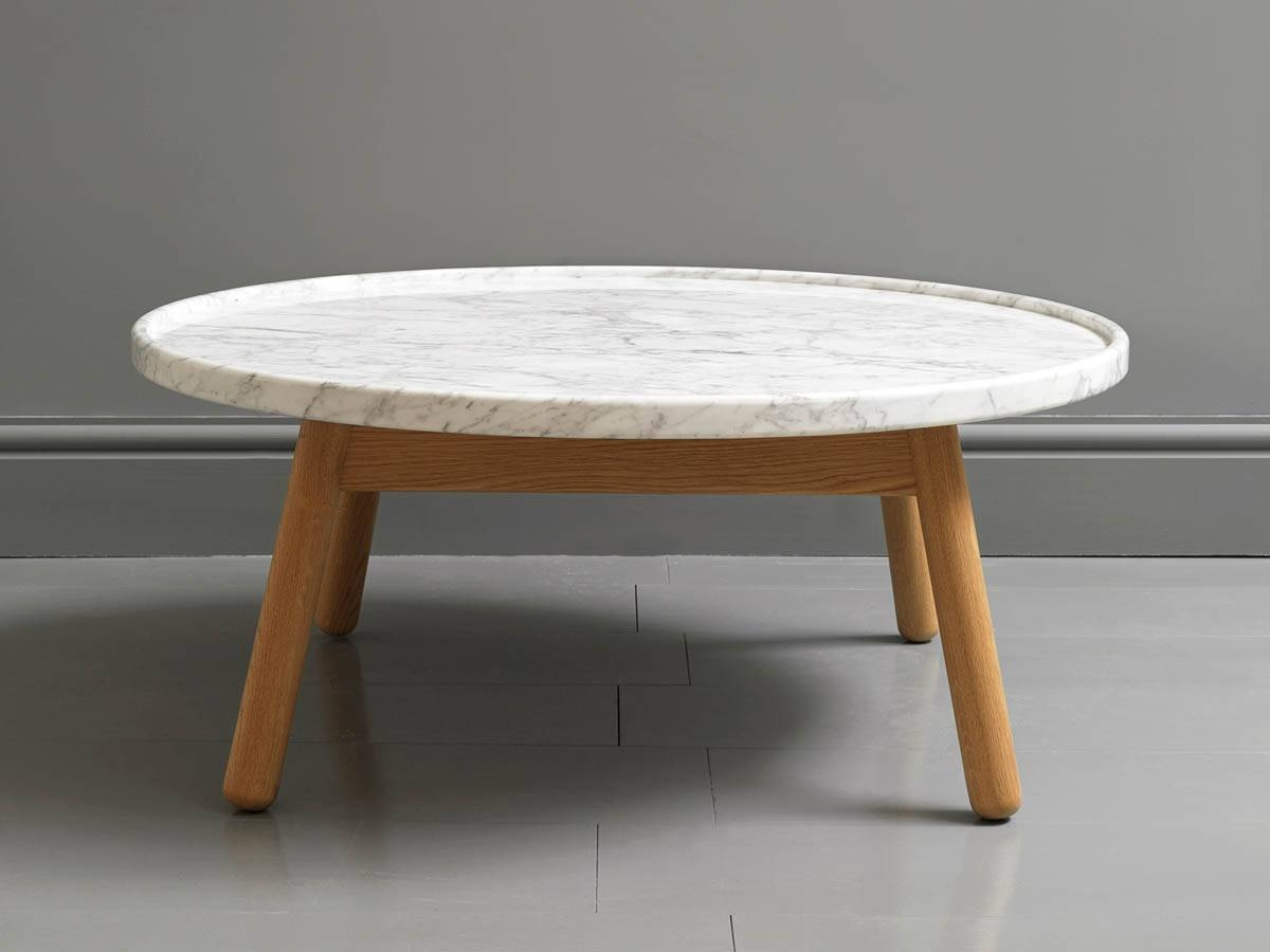 Luxury Round Marble Coffee Table Target – Round Marble Coffee for Round Slate Top Coffee Tables (Image 11 of 30)