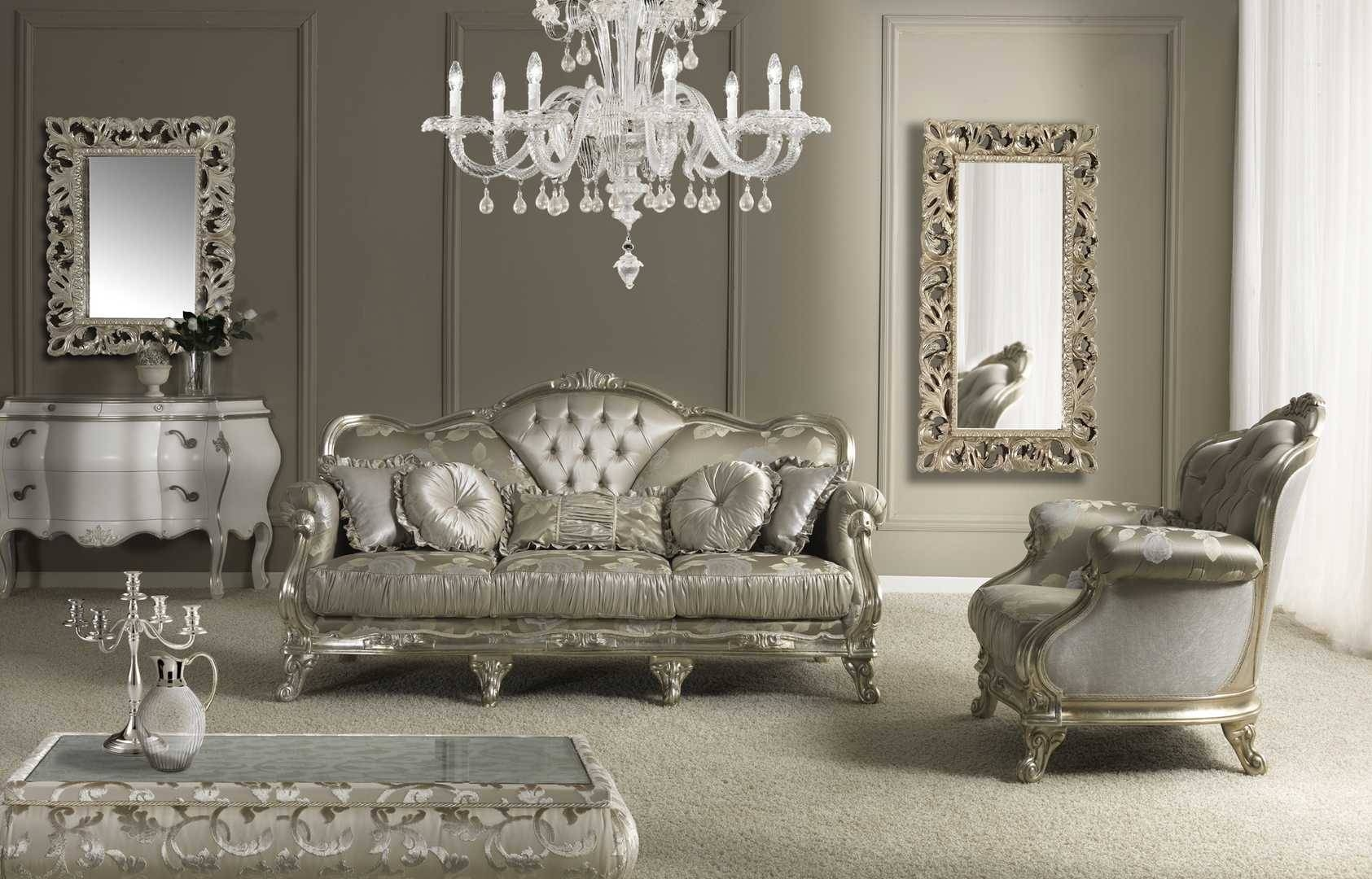 Luxury Sofa And Chairs Unique Napoleone Italian Set Designs Living with regard to Traditional Sofas And Chairs (Image 6 of 15)