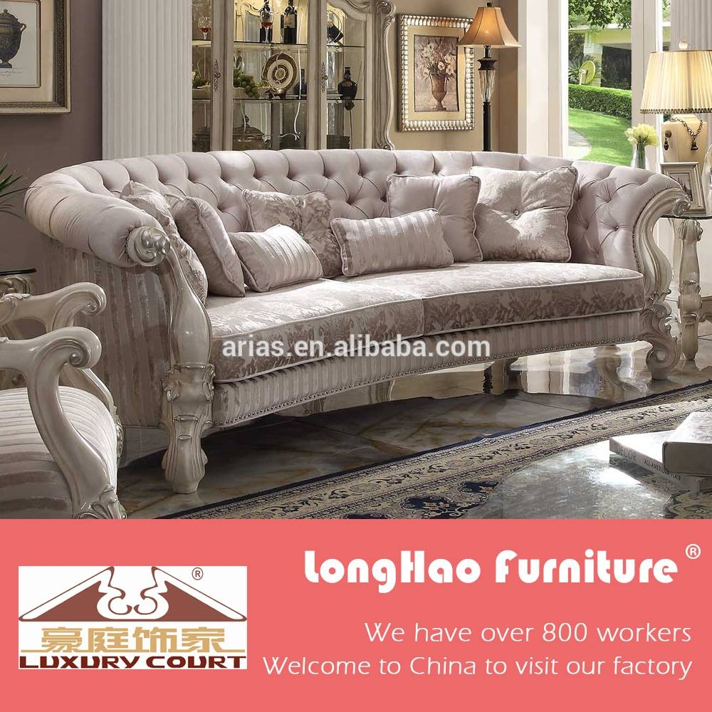 Luxury Sofa, Luxury Sofa Suppliers And Manufacturers At Alibaba with regard to European Style Sofas (Image 15 of 30)