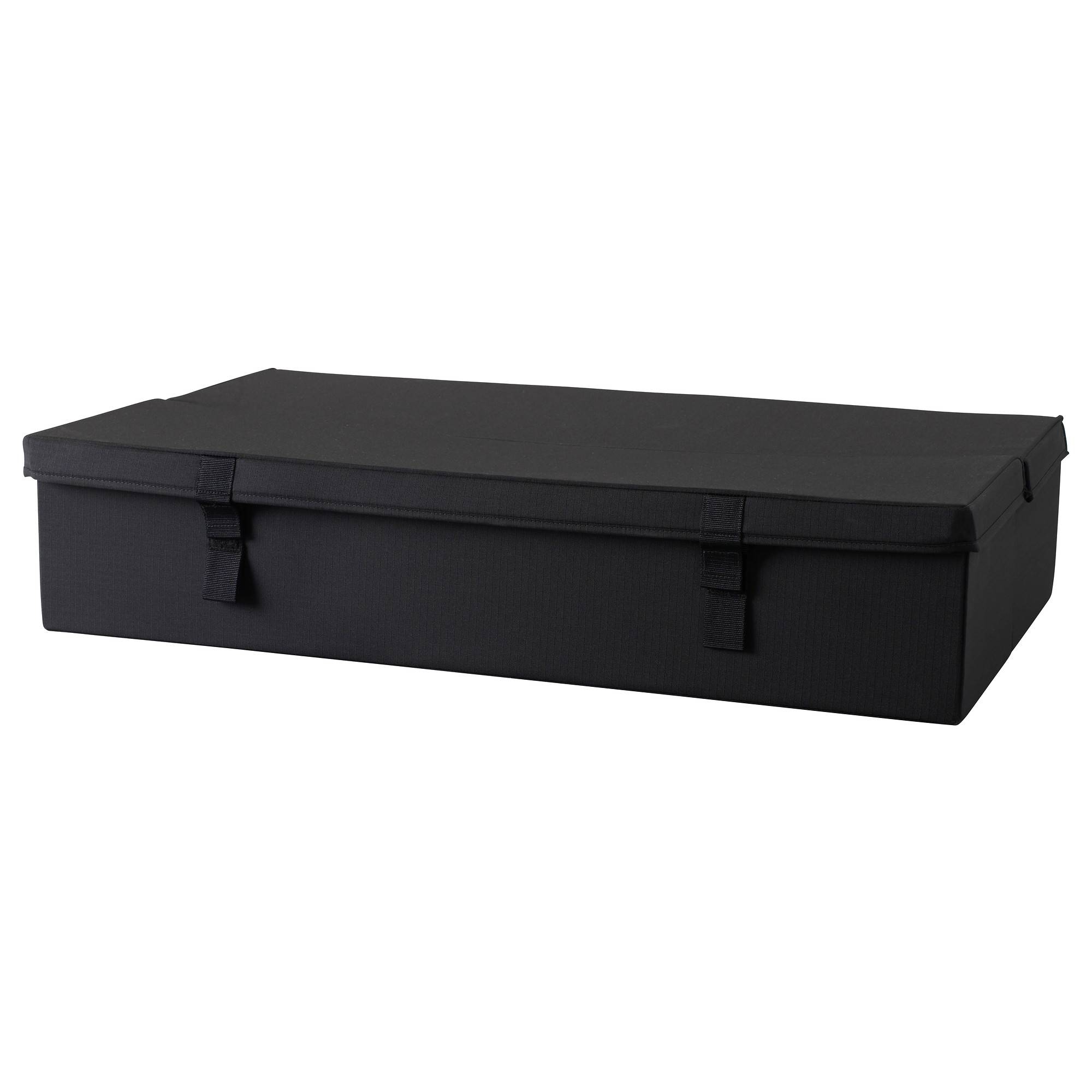 Lycksele Storage Box 2-Seat Sofa-Bed Black - Ikea intended for Ikea Storage Sofa Bed (Image 22 of 25)
