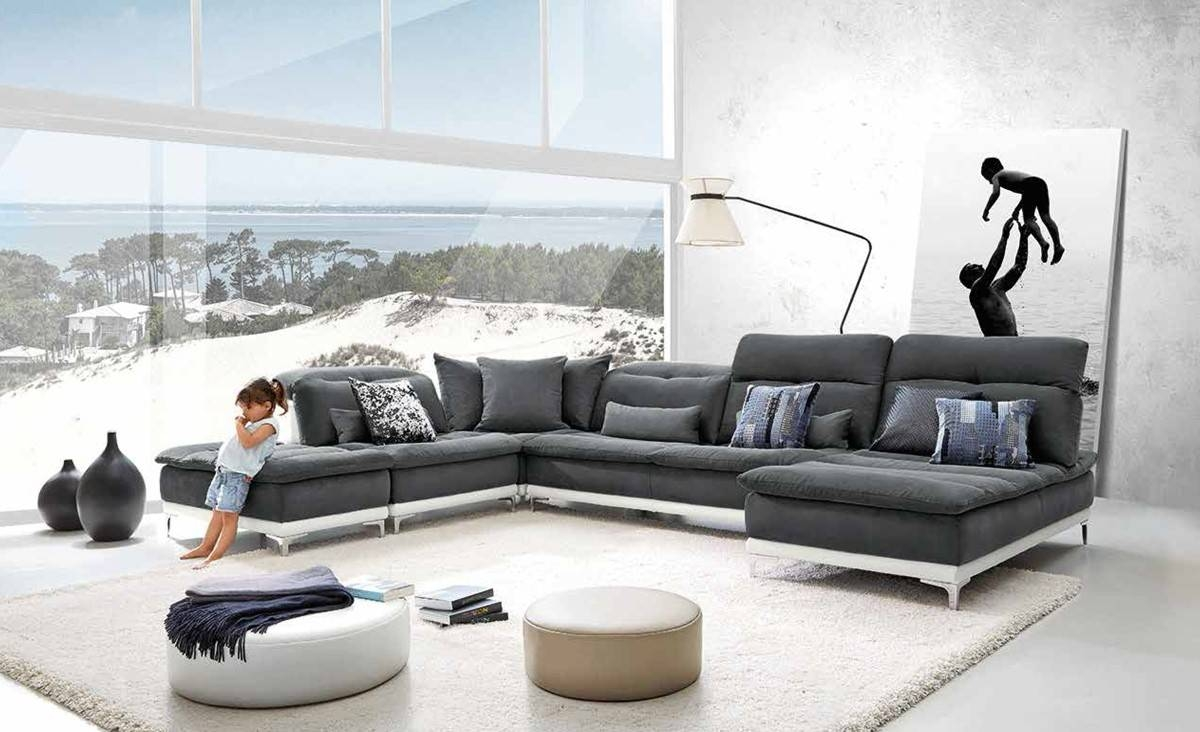 Made In Italy Sofas Italian Leather Sectionals And Sets throughout Modern Sofas Sectionals (Image 15 of 30)