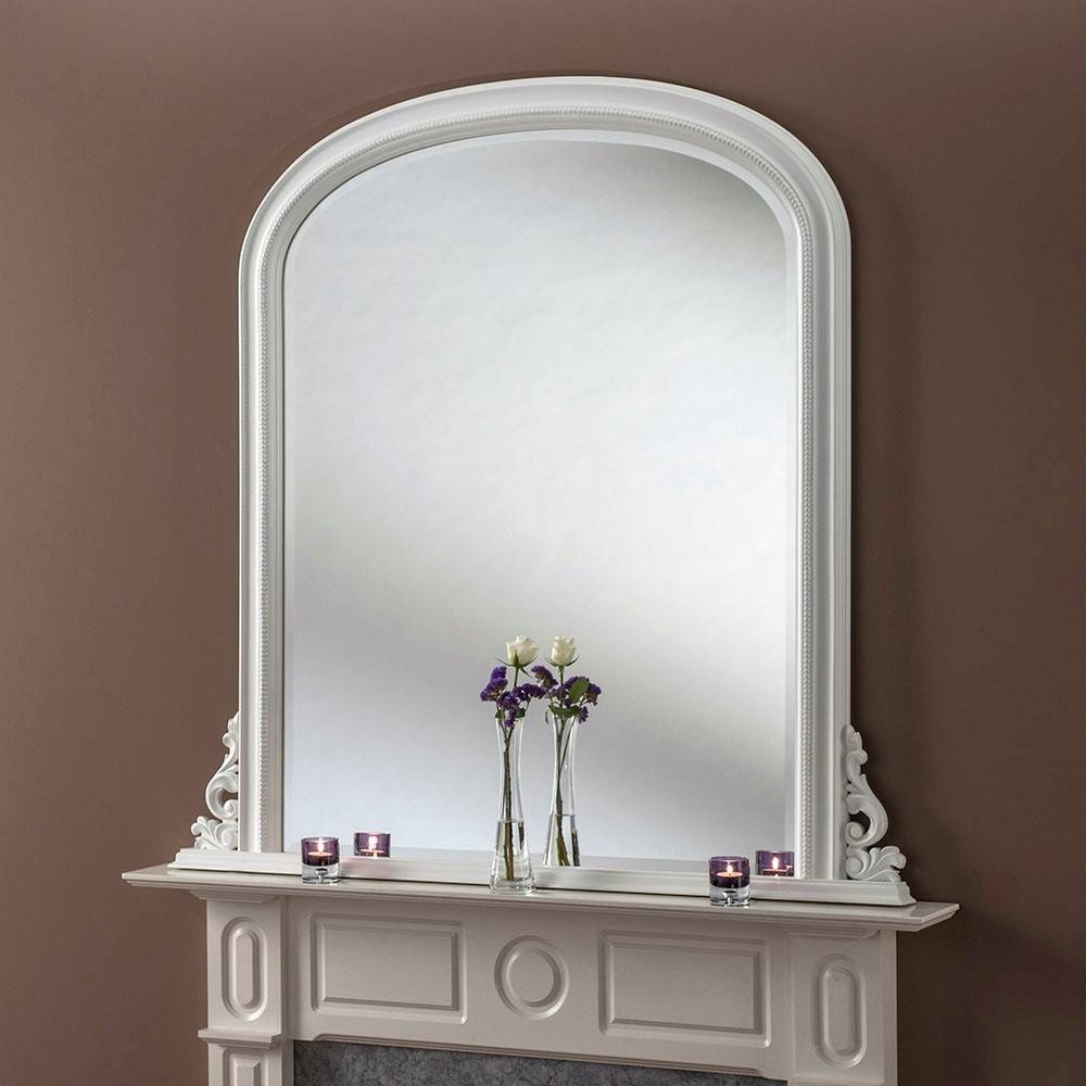 Mae Grande Overmantle Mirror From £399 - Luxury Overmantle Mirrors for Overmantel Mirrors (Image 17 of 25)