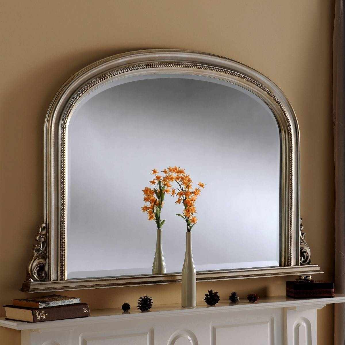Mae Overmantle Mirror From £299 - Luxury Overmantle Mirrors with regard to Overmantle Mirrors (Image 19 of 25)